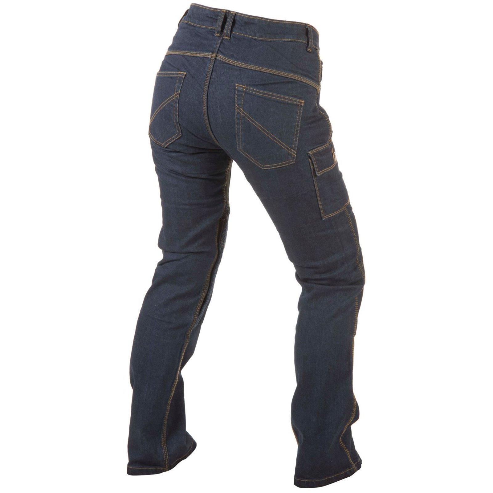 trilobite smart damen motorrad jeans hose l nge 32 hoher. Black Bedroom Furniture Sets. Home Design Ideas