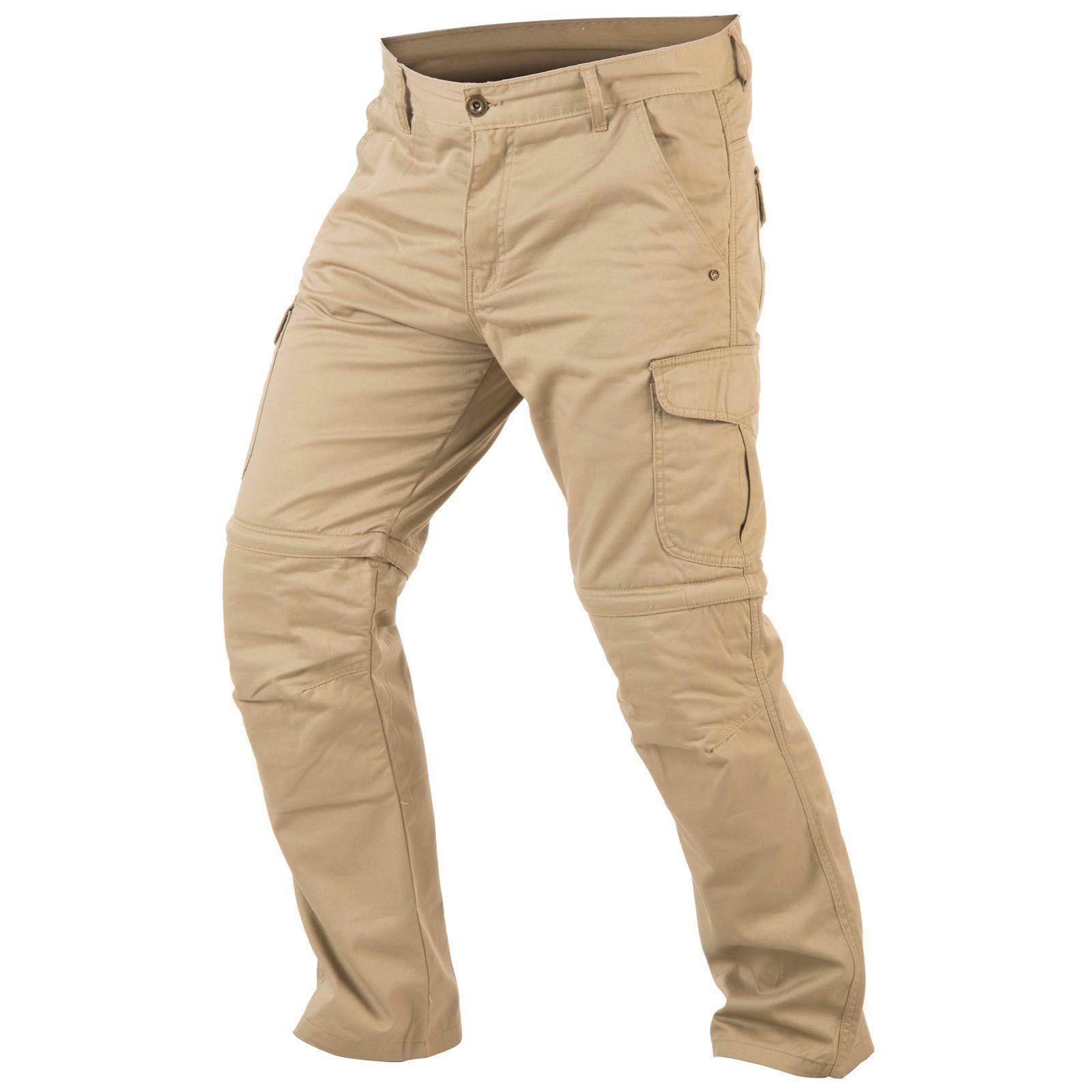 trilobite dual pants 2 in 1 herren motorrad hose beige l32. Black Bedroom Furniture Sets. Home Design Ideas