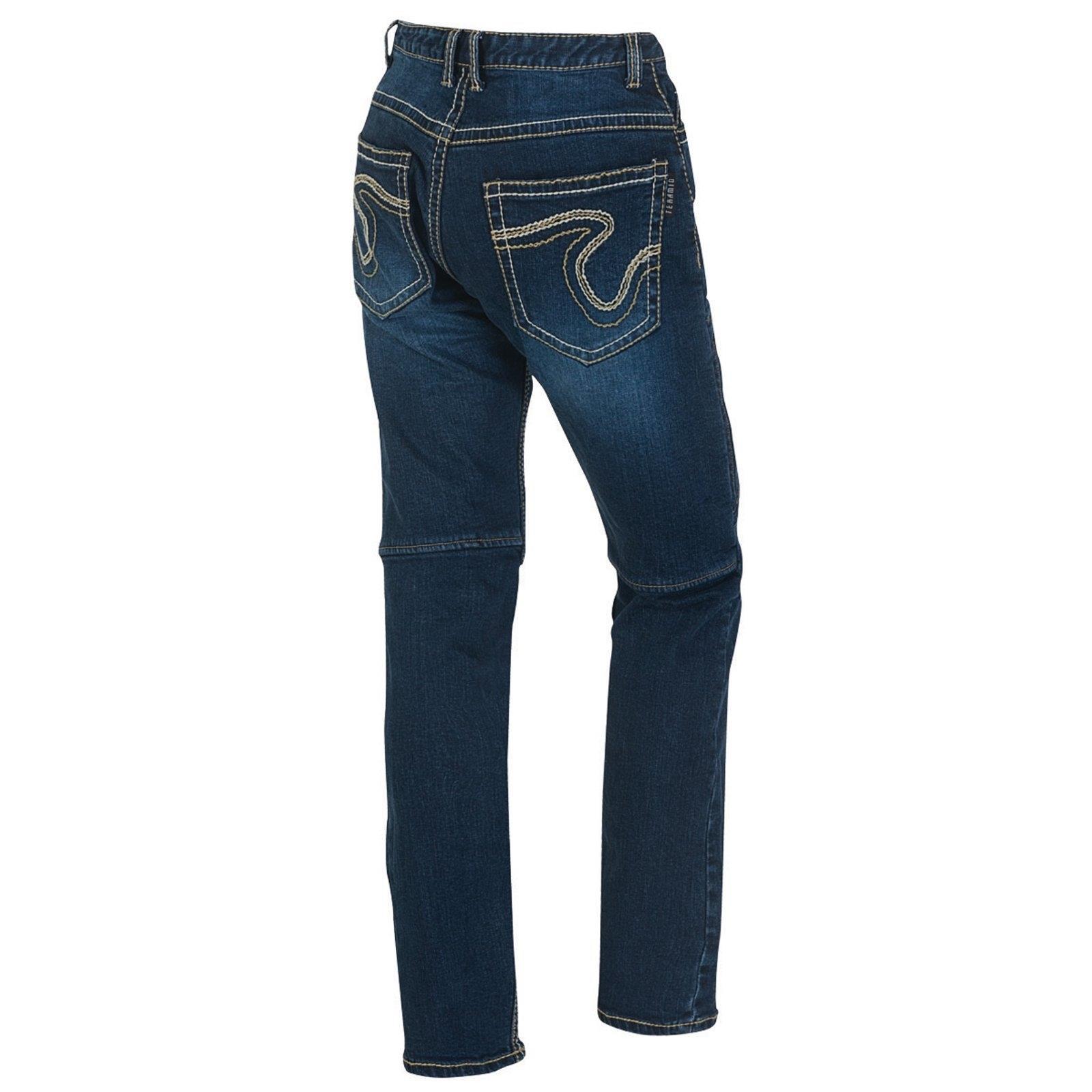 germot jason motorrad jeans herren blau l32 style. Black Bedroom Furniture Sets. Home Design Ideas