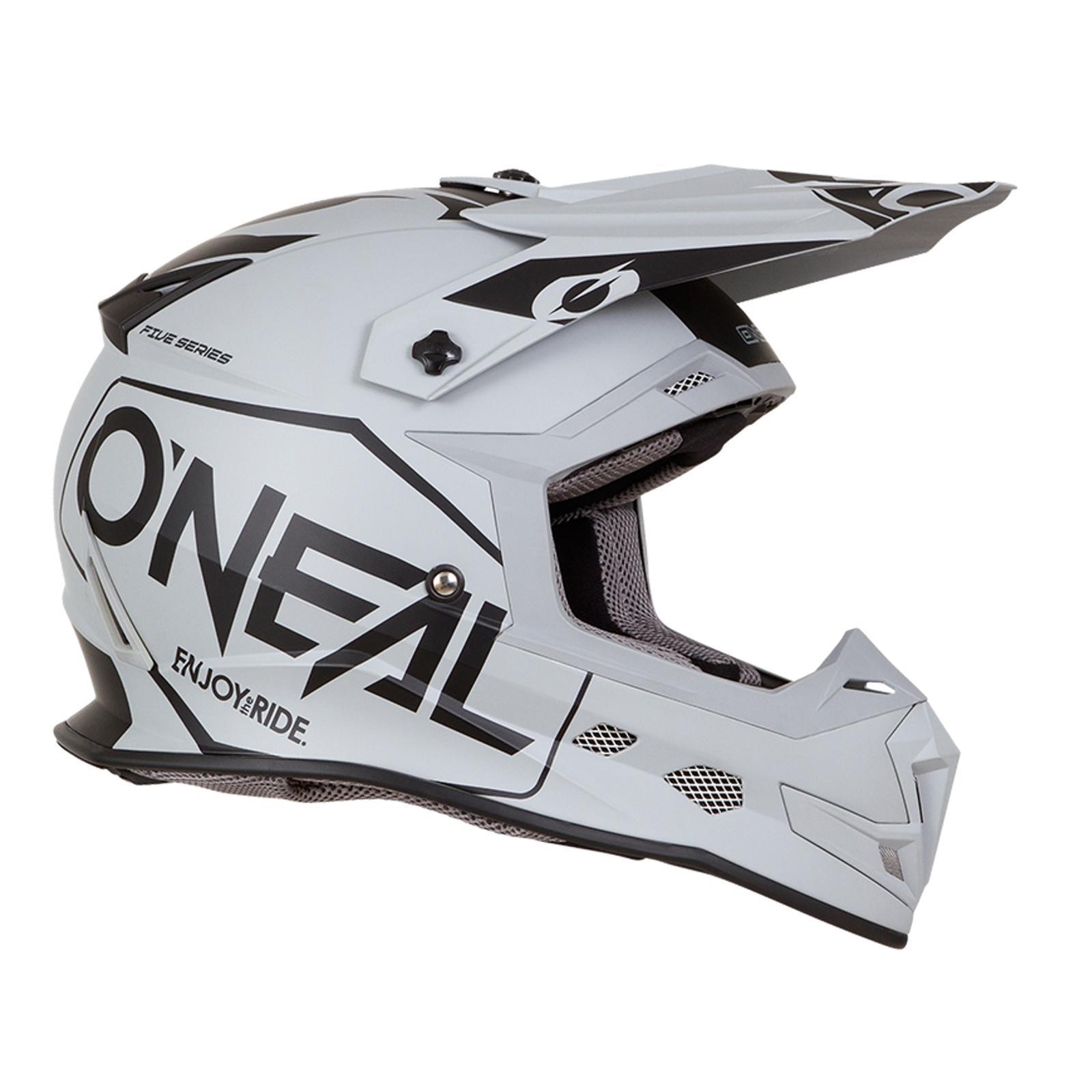 ONeal-Motocross-casco-MX-ENDURO-MOTO-BICI-FUORISTRADA-CROSS-Series-Adventure miniatura 71