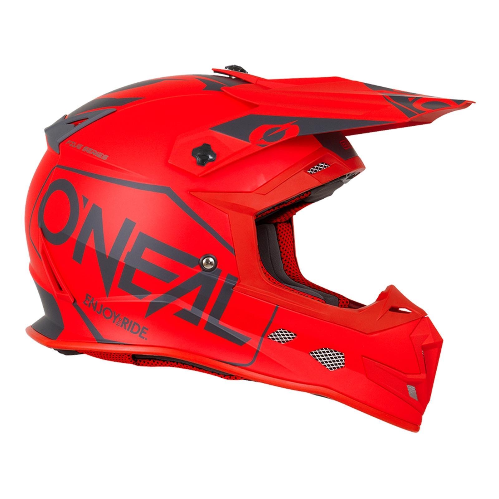 ONeal-Motocross-casco-MX-ENDURO-MOTO-BICI-FUORISTRADA-CROSS-Series-Adventure miniatura 75