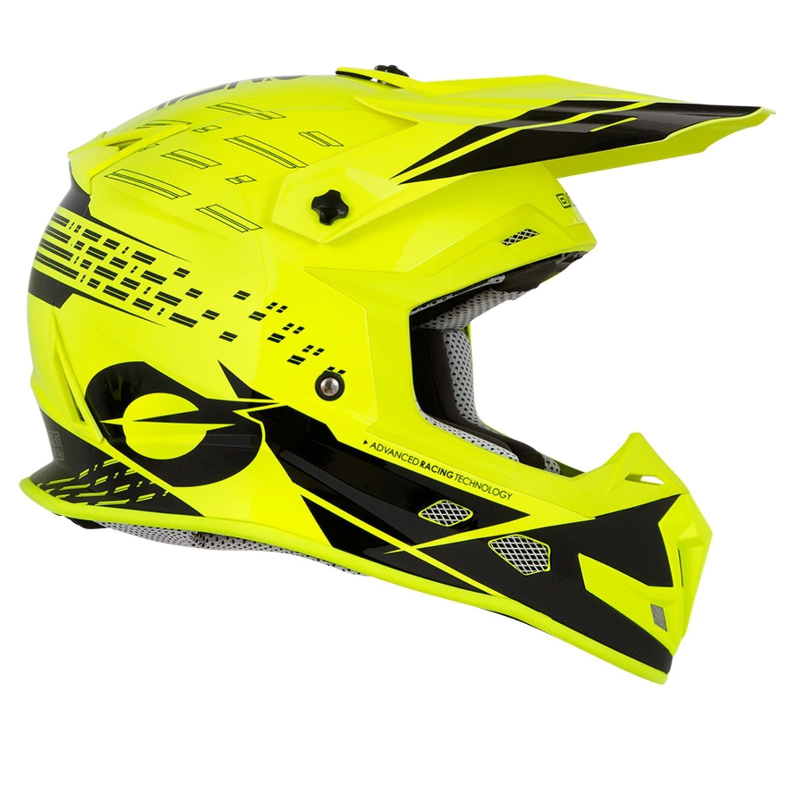 ONeal-Motocross-casco-MX-ENDURO-MOTO-BICI-FUORISTRADA-CROSS-Series-Adventure miniatura 59