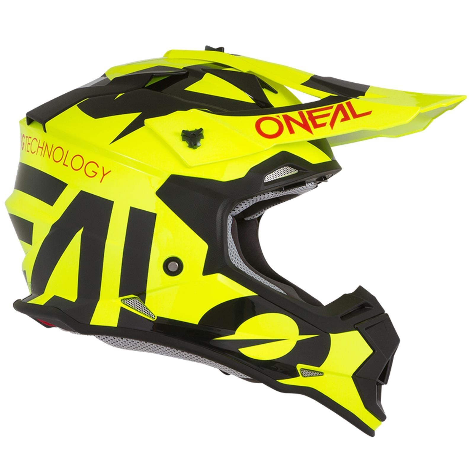 ONeal-Motocross-casco-MX-ENDURO-MOTO-BICI-FUORISTRADA-CROSS-Series-Adventure miniatura 5