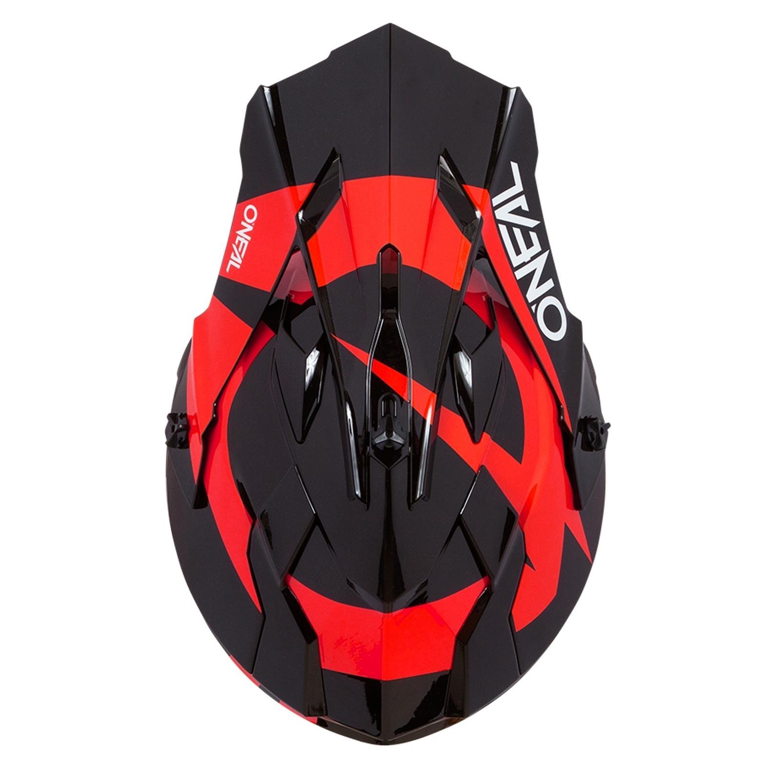 ONeal-Motocross-casco-MX-ENDURO-MOTO-BICI-FUORISTRADA-CROSS-Series-Adventure miniatura 16