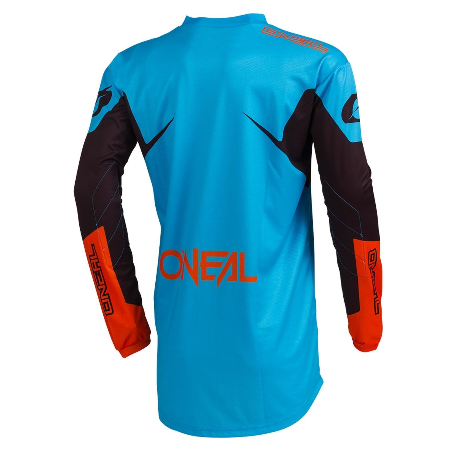 O-039-Neal-Element-Racewear-MOTOCROSS-JERSEY-MX-ENDURO-CROSS-MAGLIA-MOUNTAIN-BIKE miniatura 9