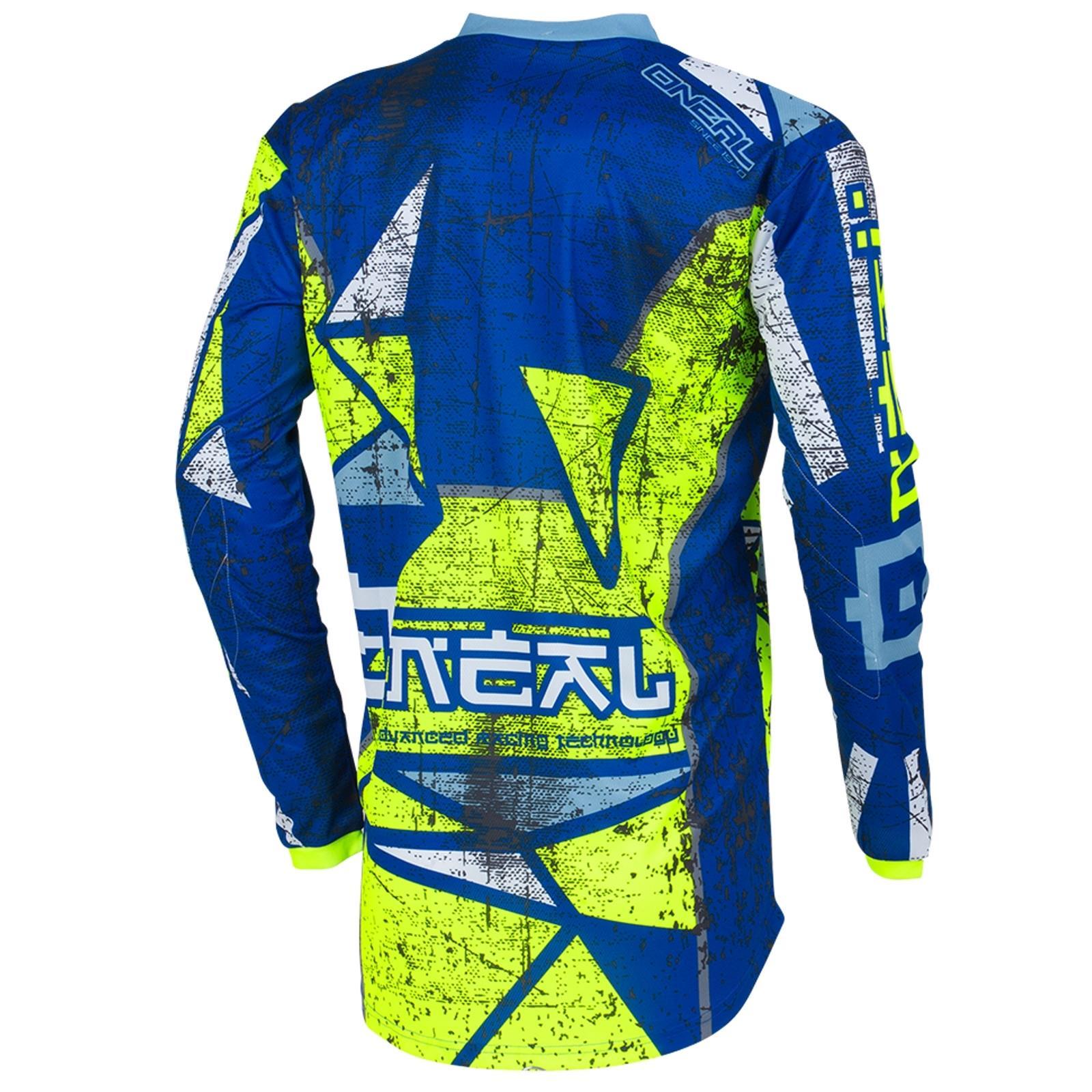 O-039-Neal-elemento-Mayhem-JERSEY-Racewear-Motocross-Maglia-MX-DH-FR-MTB-MOUNTAIN-BIKE miniatura 40