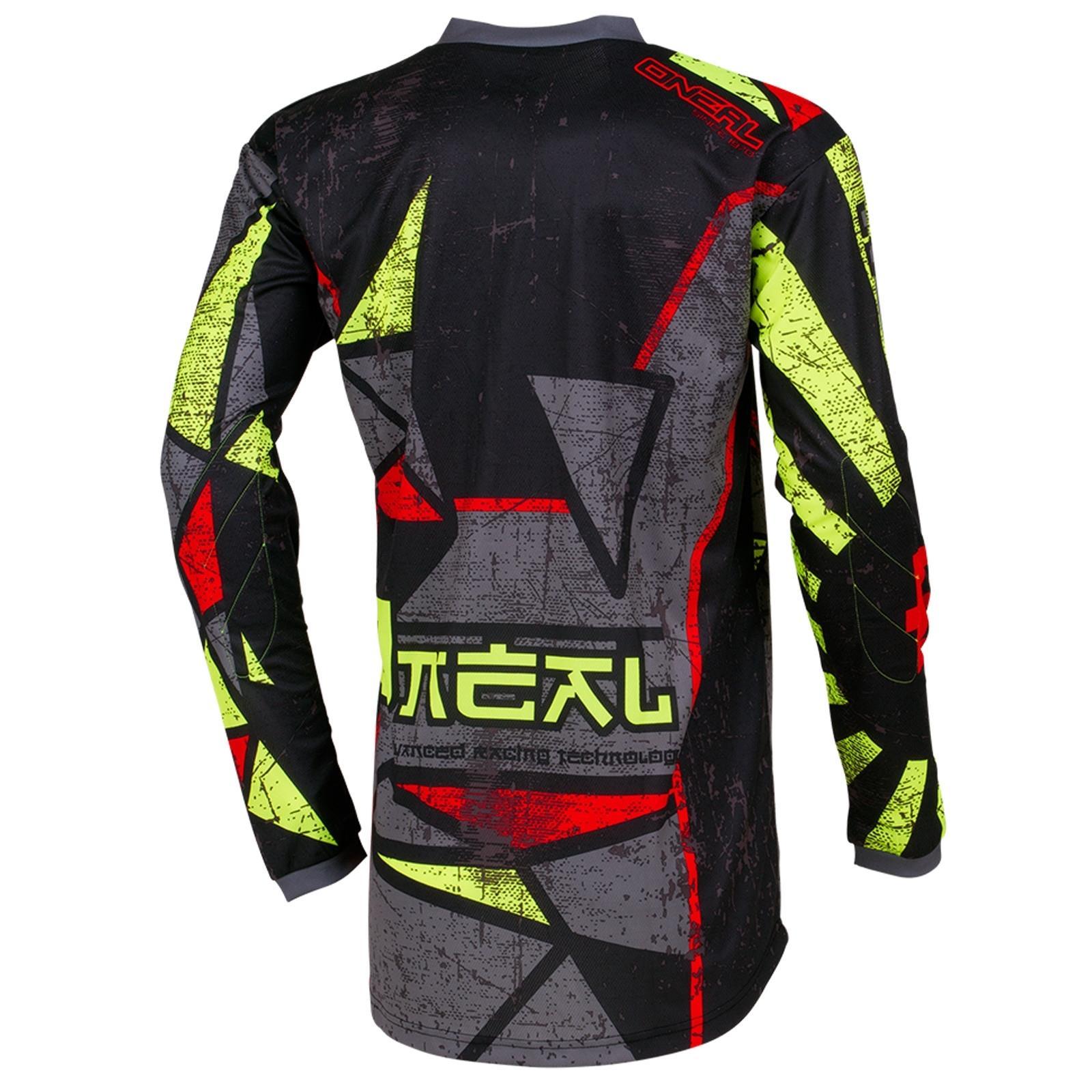 O-039-Neal-elemento-Mayhem-JERSEY-Racewear-Motocross-Maglia-MX-DH-FR-MTB-MOUNTAIN-BIKE miniatura 42