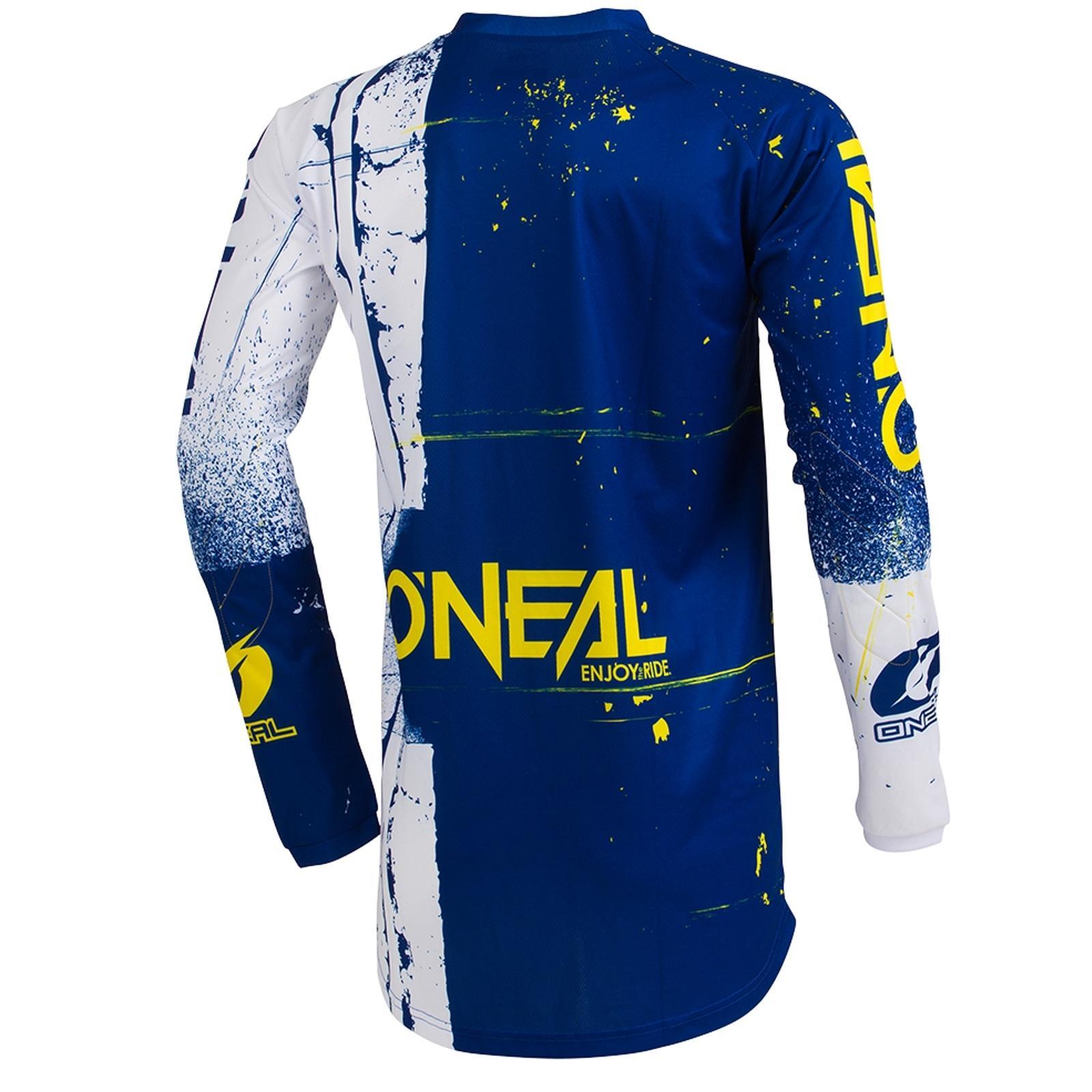 O-039-Neal-elemento-Mayhem-JERSEY-Racewear-Motocross-Maglia-MX-DH-FR-MTB-MOUNTAIN-BIKE miniatura 32