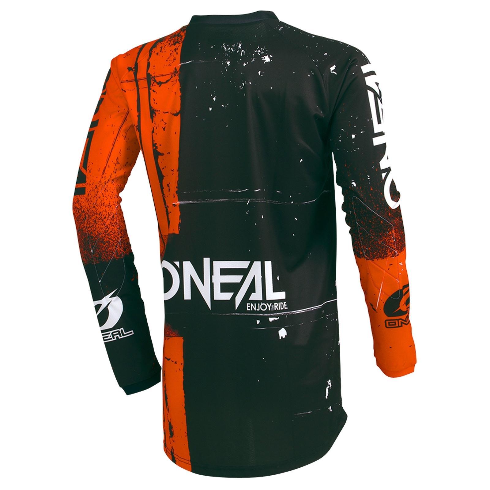 O-039-Neal-elemento-Mayhem-JERSEY-Racewear-Motocross-Maglia-MX-DH-FR-MTB-MOUNTAIN-BIKE miniatura 34