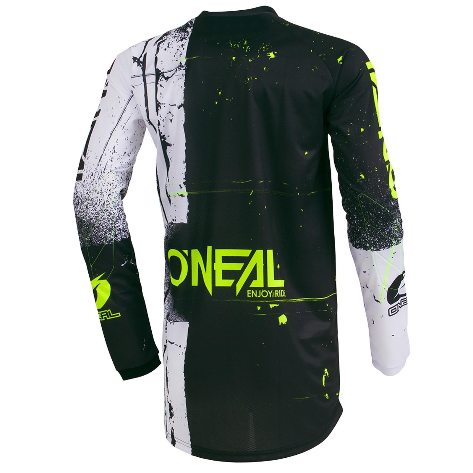 O-039-Neal-elemento-Mayhem-JERSEY-Racewear-Motocross-Maglia-MX-DH-FR-MTB-MOUNTAIN-BIKE miniatura 38