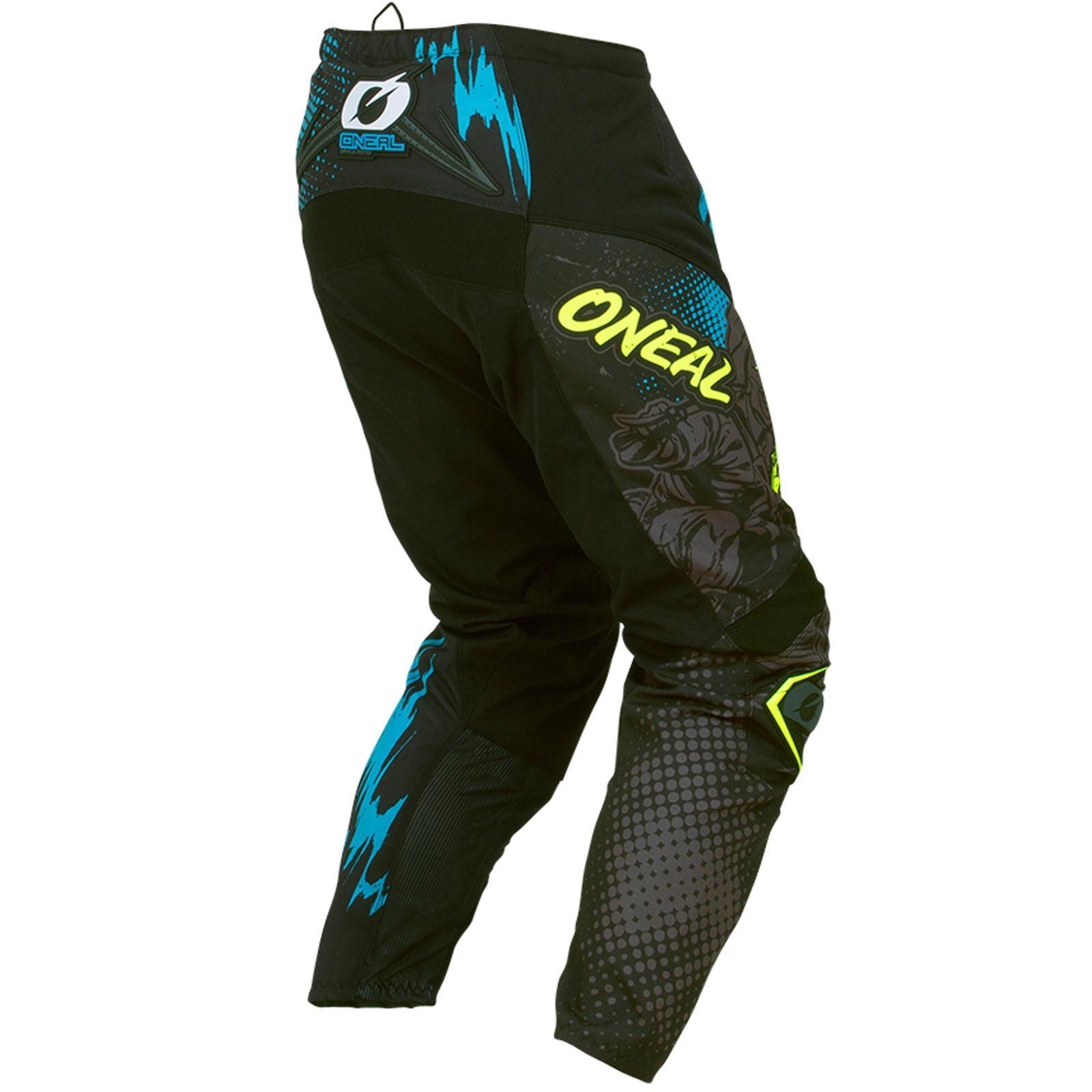 O-039-Neal-elemento-Mayhem-Hardwear-Pants-Pantaloni-MX-MOTO-CROSS-ENDURO-OFFROAD-Pelle miniatura 75