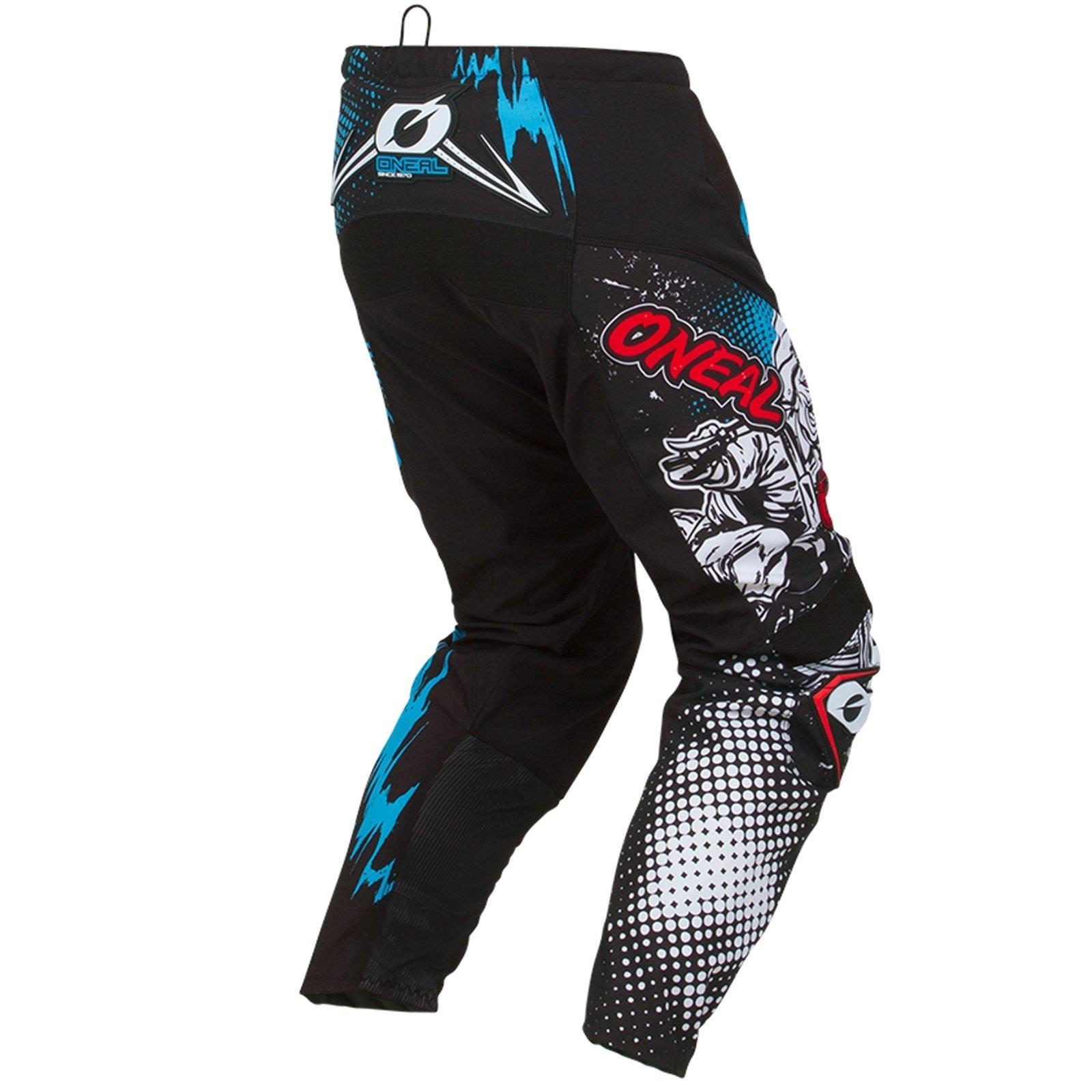 O-039-Neal-elemento-Mayhem-Hardwear-Pants-Pantaloni-MX-MOTO-CROSS-ENDURO-OFFROAD-Pelle miniatura 77