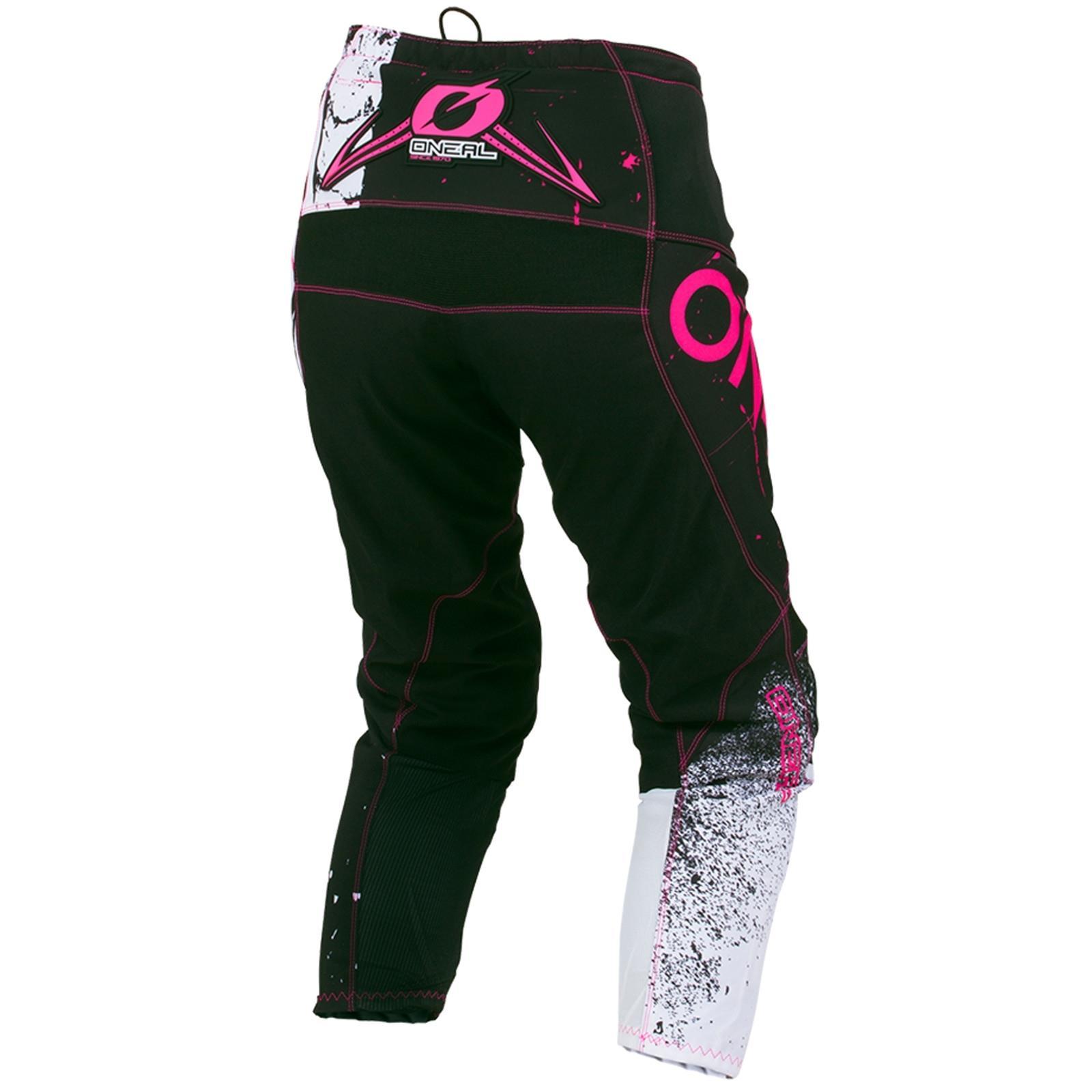 ONEAL-DONNA-MOTO-CROSS-MTB-SHIRT-ragazze-Jersey-Pantaloni-Rosa-Casco-bicicletta-DH-ENDURO miniatura 55