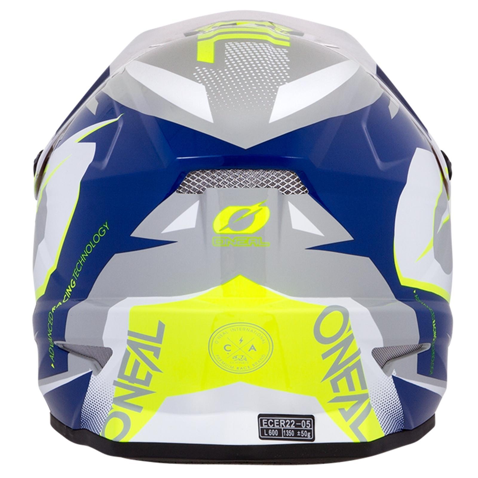 ONeal-Motocross-casco-MX-ENDURO-MOTO-BICI-FUORISTRADA-CROSS-Series-Adventure miniatura 39