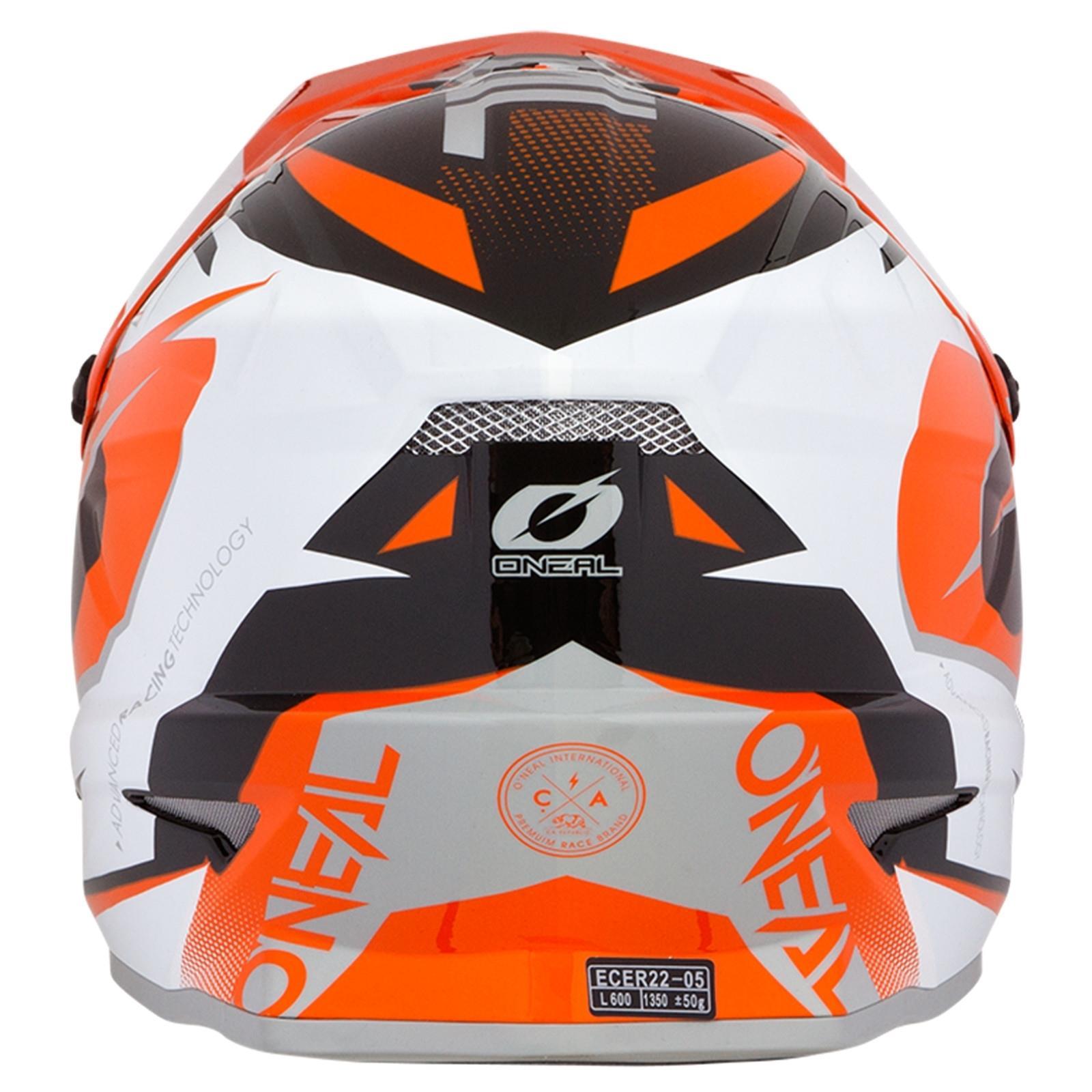 ONeal-Motocross-casco-MX-ENDURO-MOTO-BICI-FUORISTRADA-CROSS-Series-Adventure miniatura 41