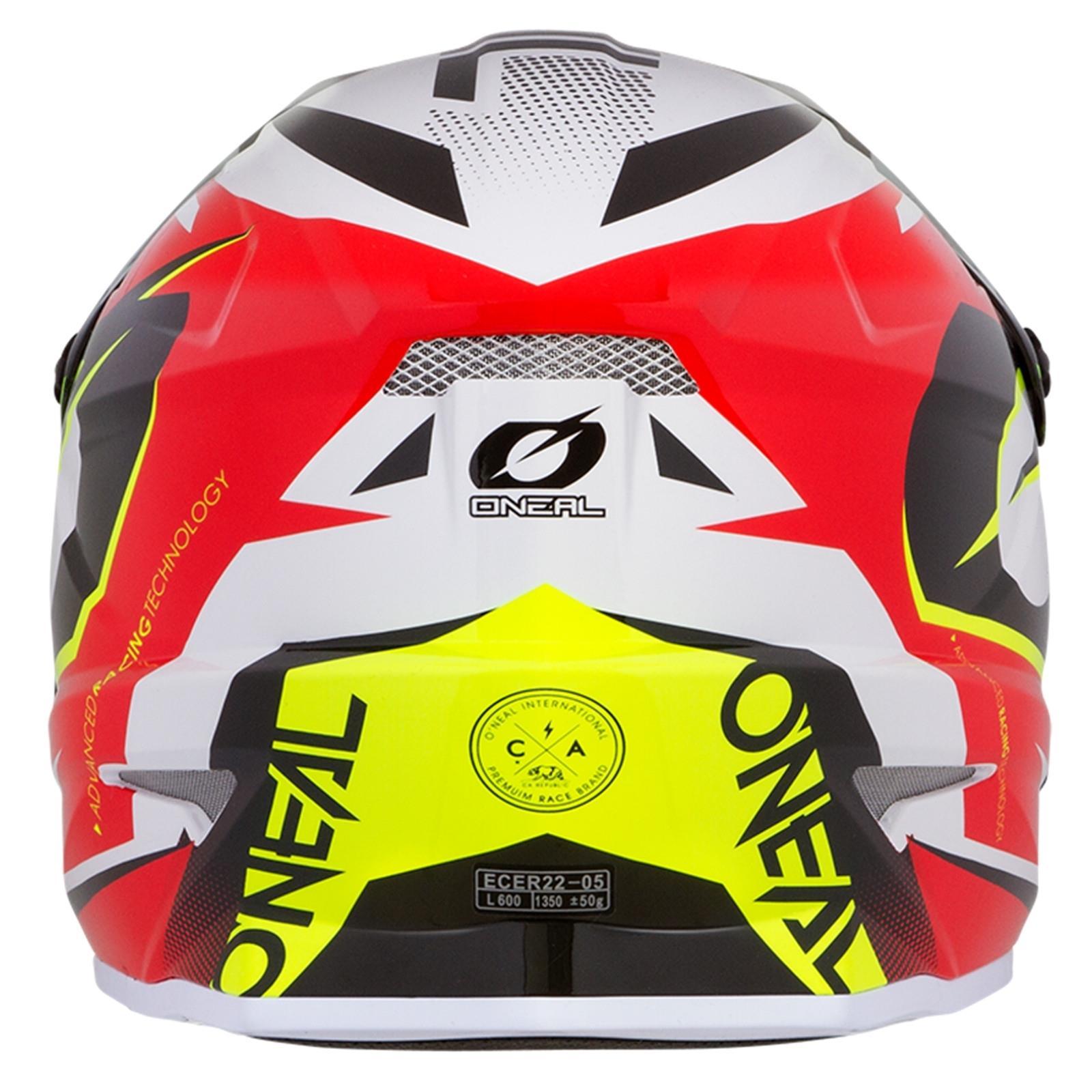 ONeal-Motocross-casco-MX-ENDURO-MOTO-BICI-FUORISTRADA-CROSS-Series-Adventure miniatura 45