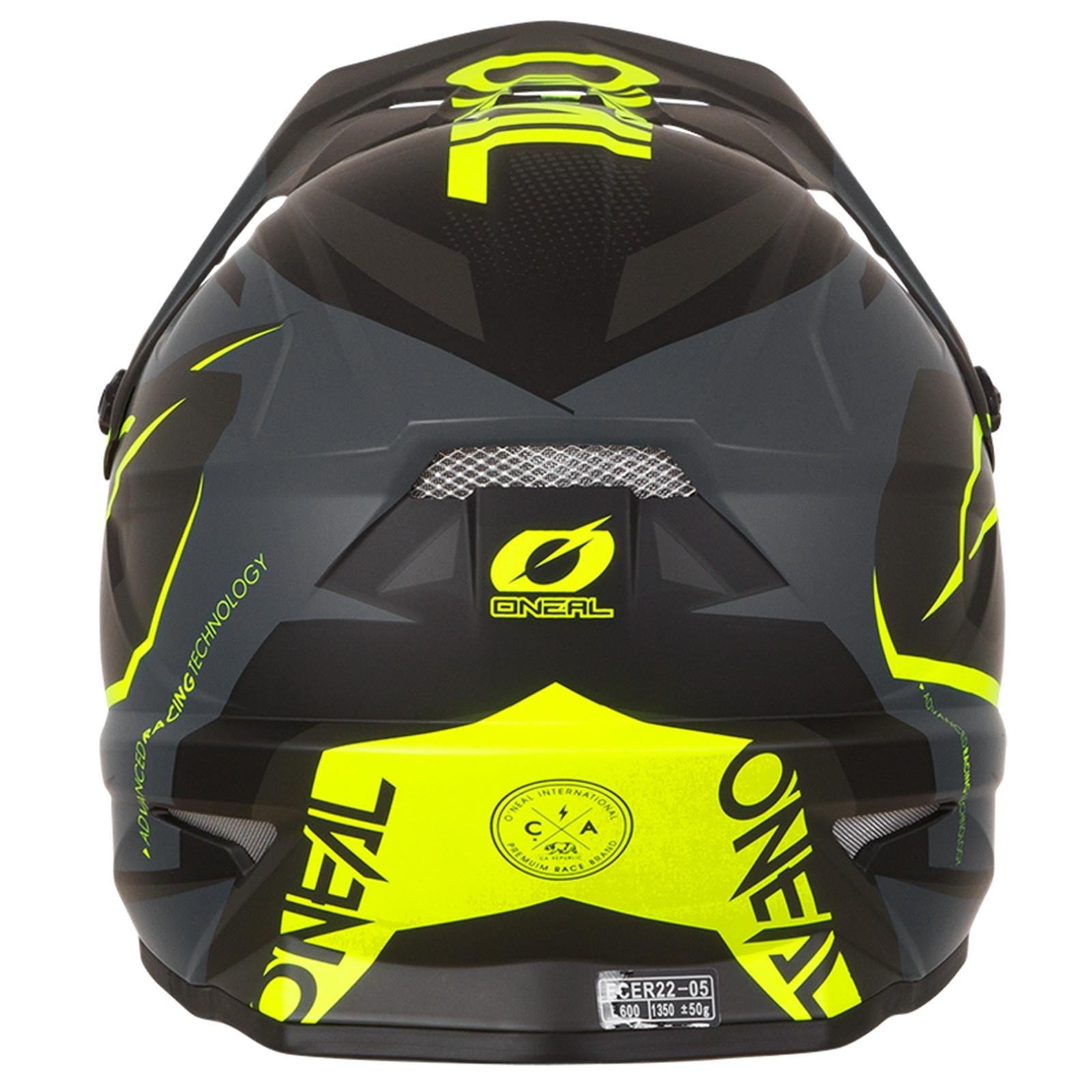 ONeal-Motocross-casco-MX-ENDURO-MOTO-BICI-FUORISTRADA-CROSS-Series-Adventure miniatura 47
