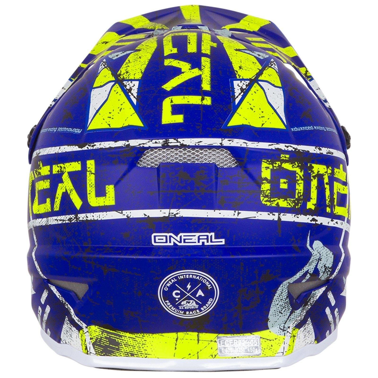 ONeal-Motocross-casco-MX-ENDURO-MOTO-BICI-FUORISTRADA-CROSS-Series-Adventure miniatura 23