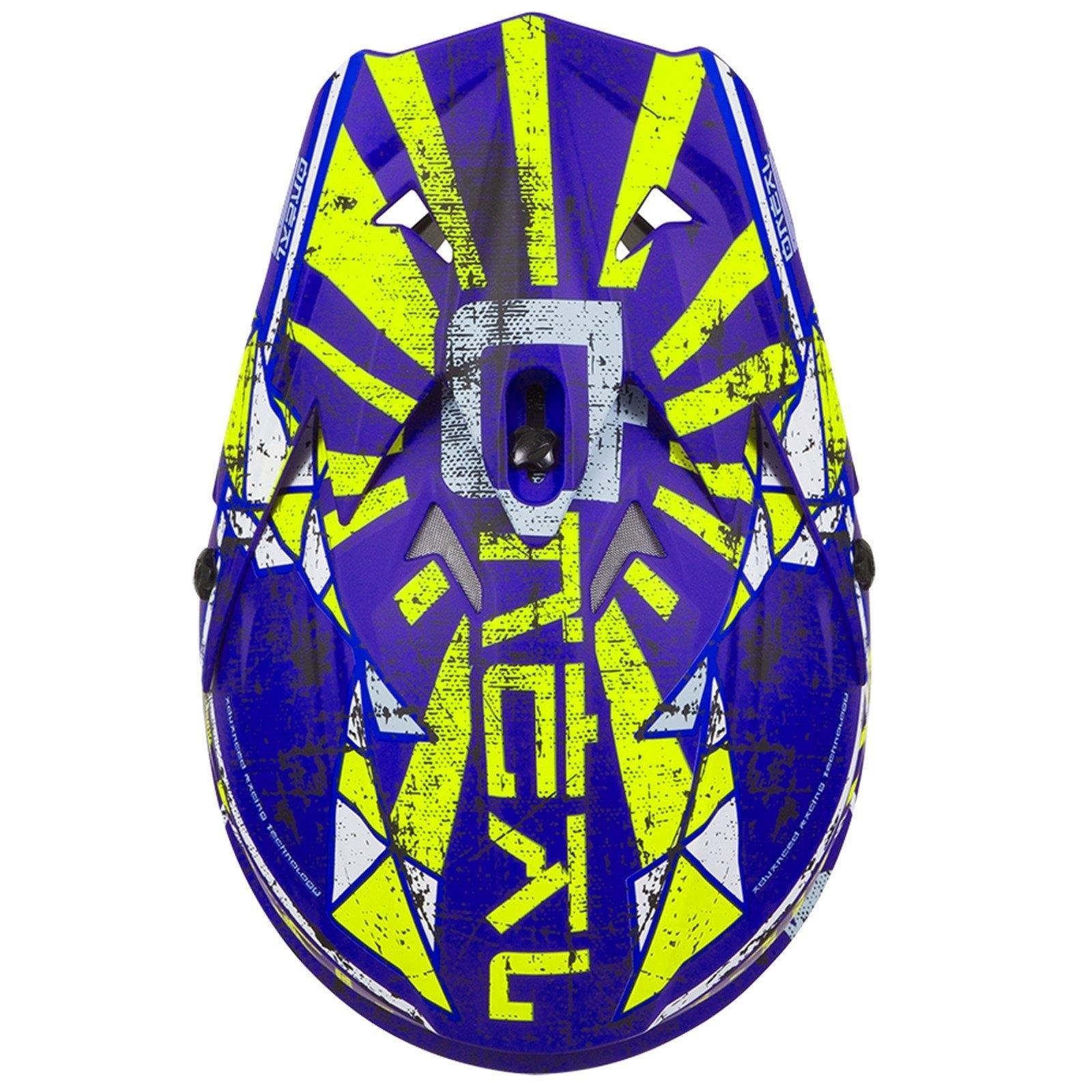 ONeal-Motocross-casco-MX-ENDURO-MOTO-BICI-FUORISTRADA-CROSS-Series-Adventure miniatura 24