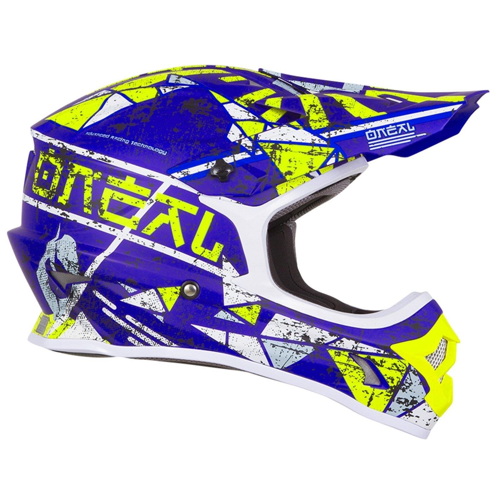 ONeal-Motocross-casco-MX-ENDURO-MOTO-BICI-FUORISTRADA-CROSS-Series-Adventure miniatura 25
