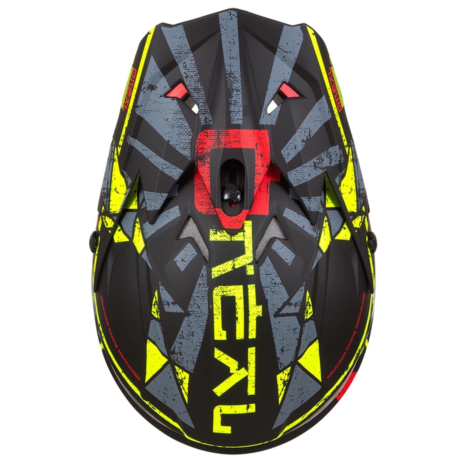 ONeal-Motocross-casco-MX-ENDURO-MOTO-BICI-FUORISTRADA-CROSS-Series-Adventure miniatura 28