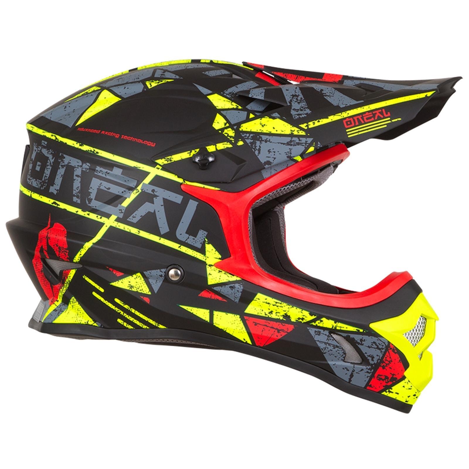 ONeal-Motocross-casco-MX-ENDURO-MOTO-BICI-FUORISTRADA-CROSS-Series-Adventure miniatura 29