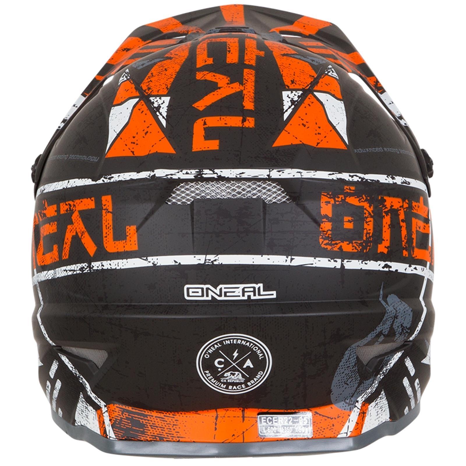ONeal-Motocross-casco-MX-ENDURO-MOTO-BICI-FUORISTRADA-CROSS-Series-Adventure miniatura 31