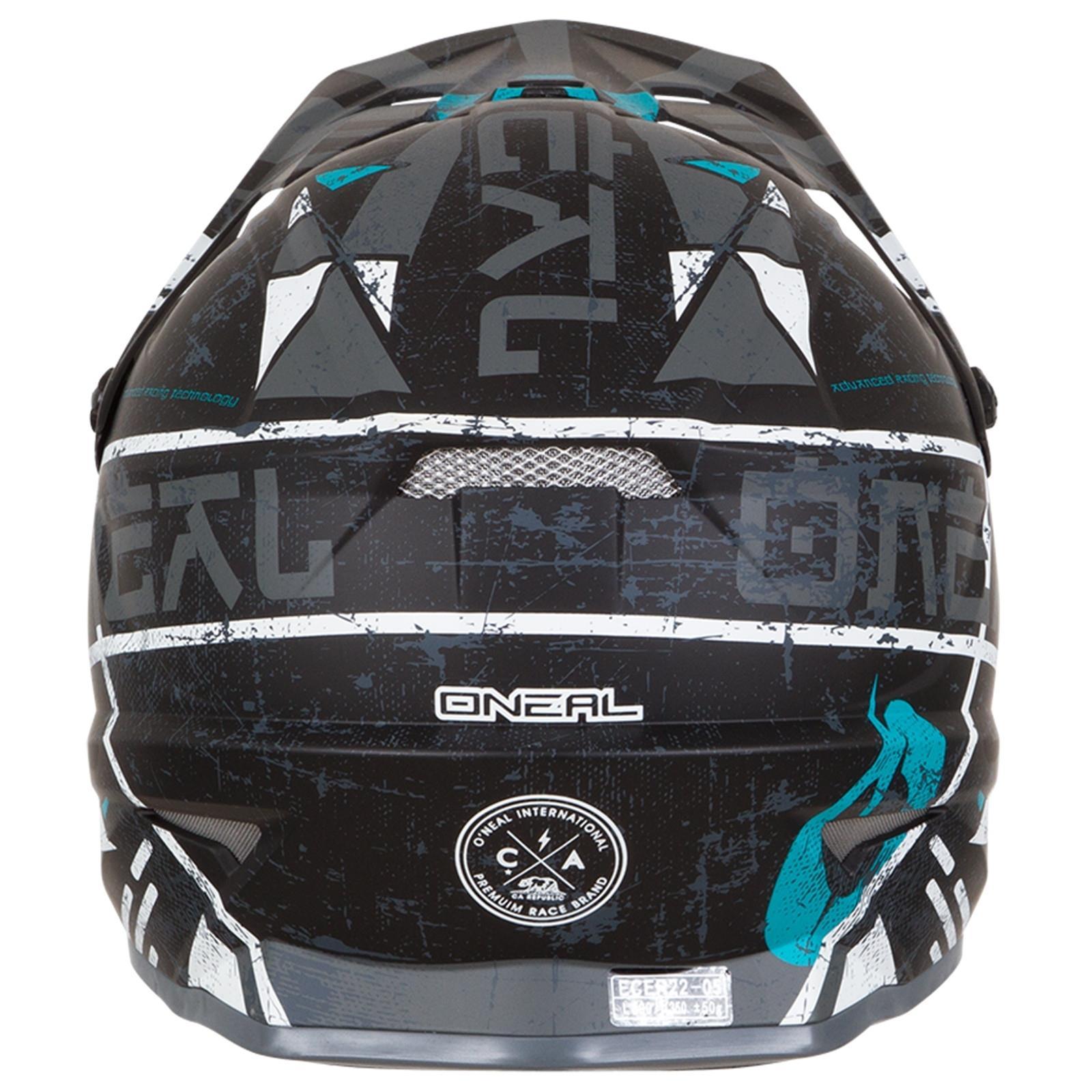 ONeal-Motocross-casco-MX-ENDURO-MOTO-BICI-FUORISTRADA-CROSS-Series-Adventure miniatura 35