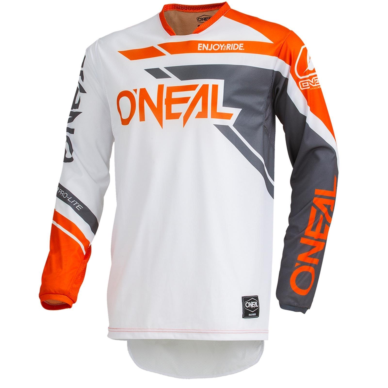 O/'Neal Element Kinder Jersey Shred orange Kids Trikot MX DH MTB BMX Motocross