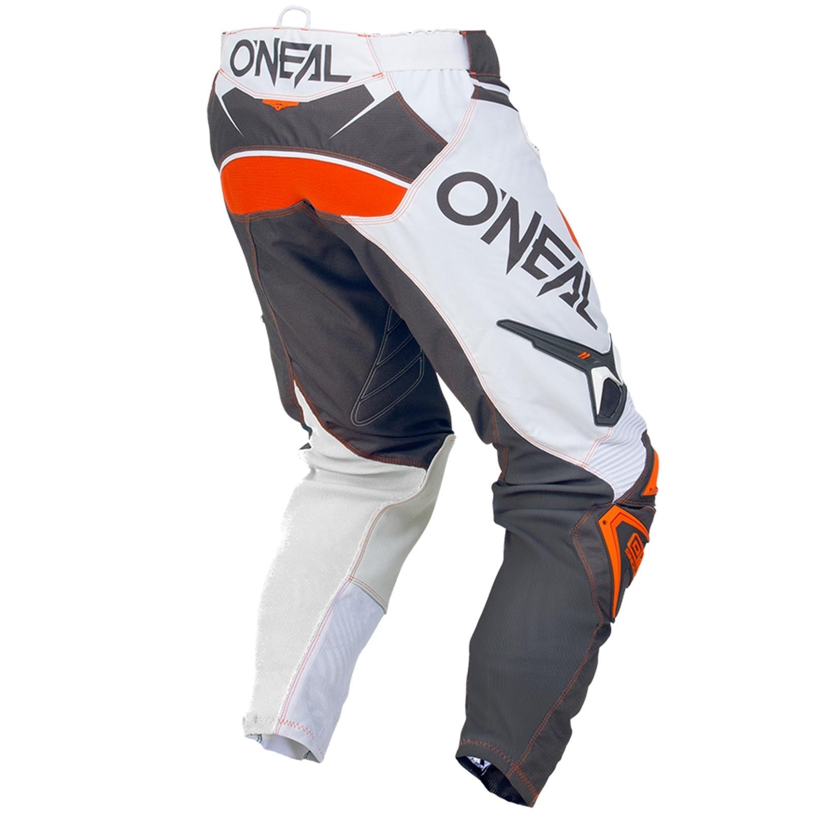 O-039-Neal-elemento-Mayhem-Hardwear-Pants-Pantaloni-MX-MOTO-CROSS-ENDURO-OFFROAD-Pelle miniatura 70