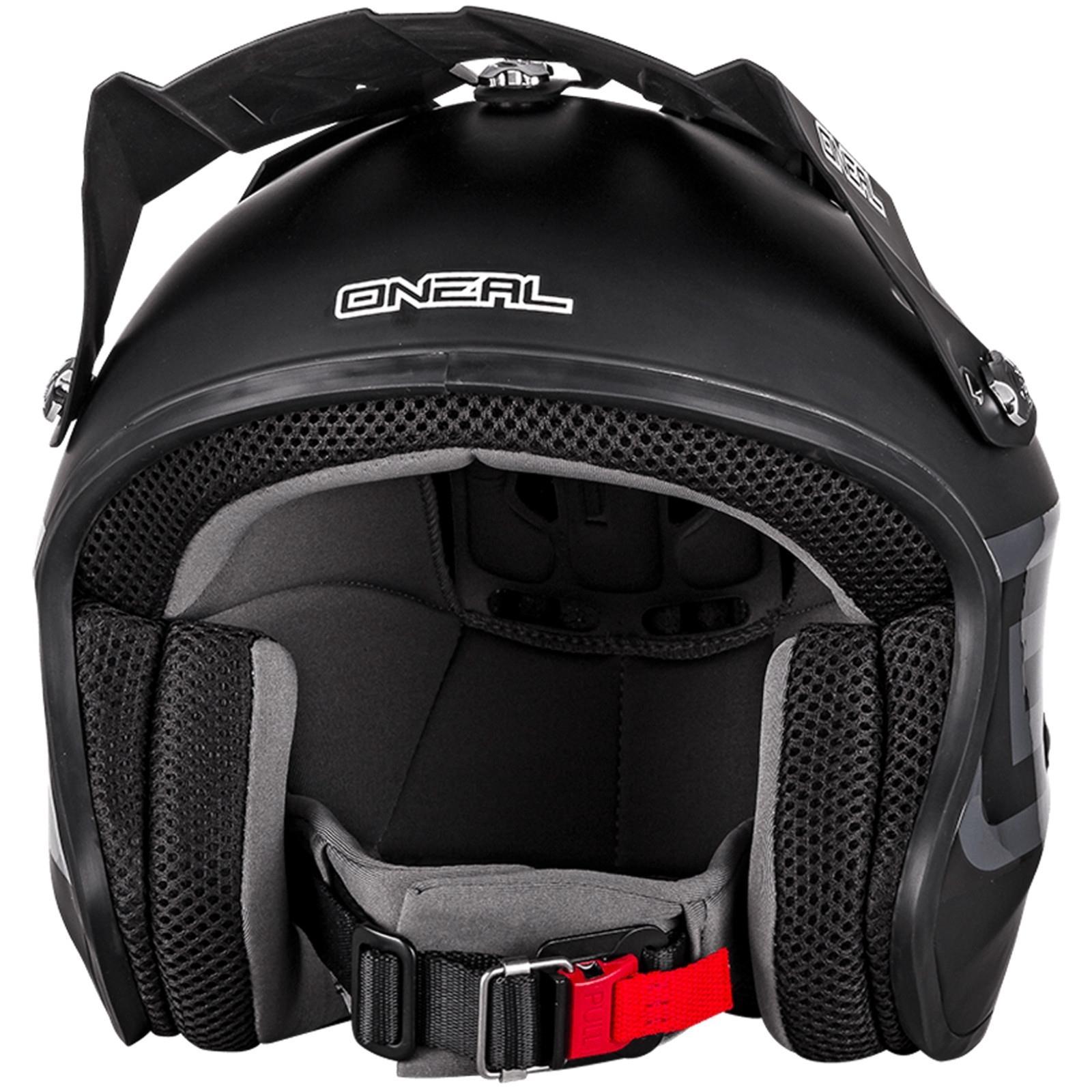 o 39 neal slat solid motorrad roller jet helm schwarz scooter. Black Bedroom Furniture Sets. Home Design Ideas