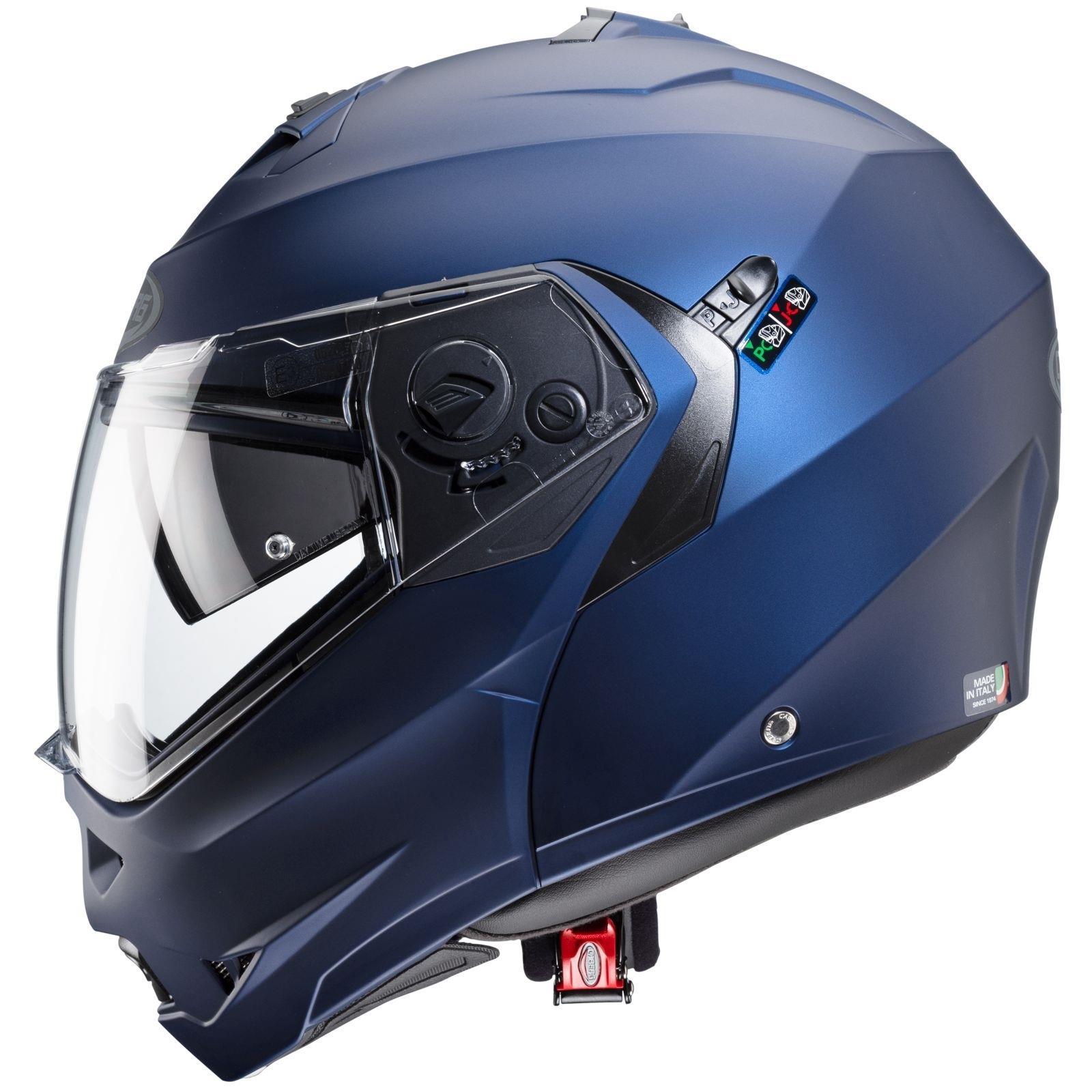 Caberg-Klapp-Helm-Duke-II-2-Motorrad-Belueftet-Sonnenblende-Pinlock-Visier-Jet Indexbild 10