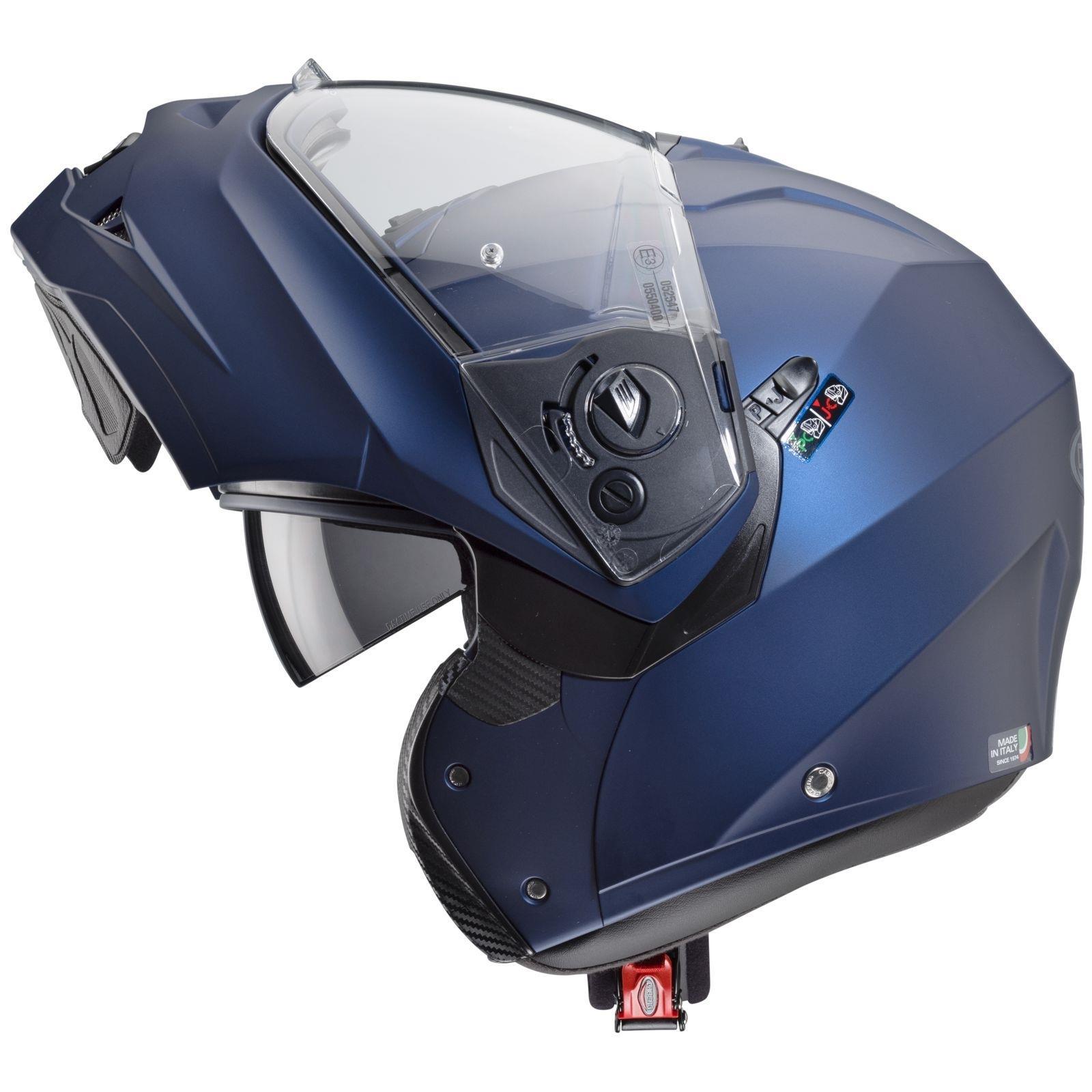 Caberg-Klapp-Helm-Duke-II-2-Motorrad-Belueftet-Sonnenblende-Pinlock-Visier-Jet Indexbild 11