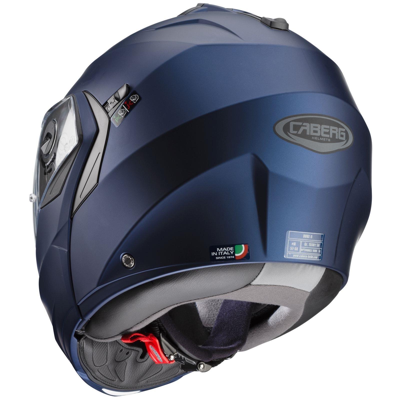Caberg-Klapp-Helm-Duke-II-2-Motorrad-Belueftet-Sonnenblende-Pinlock-Visier-Jet Indexbild 12