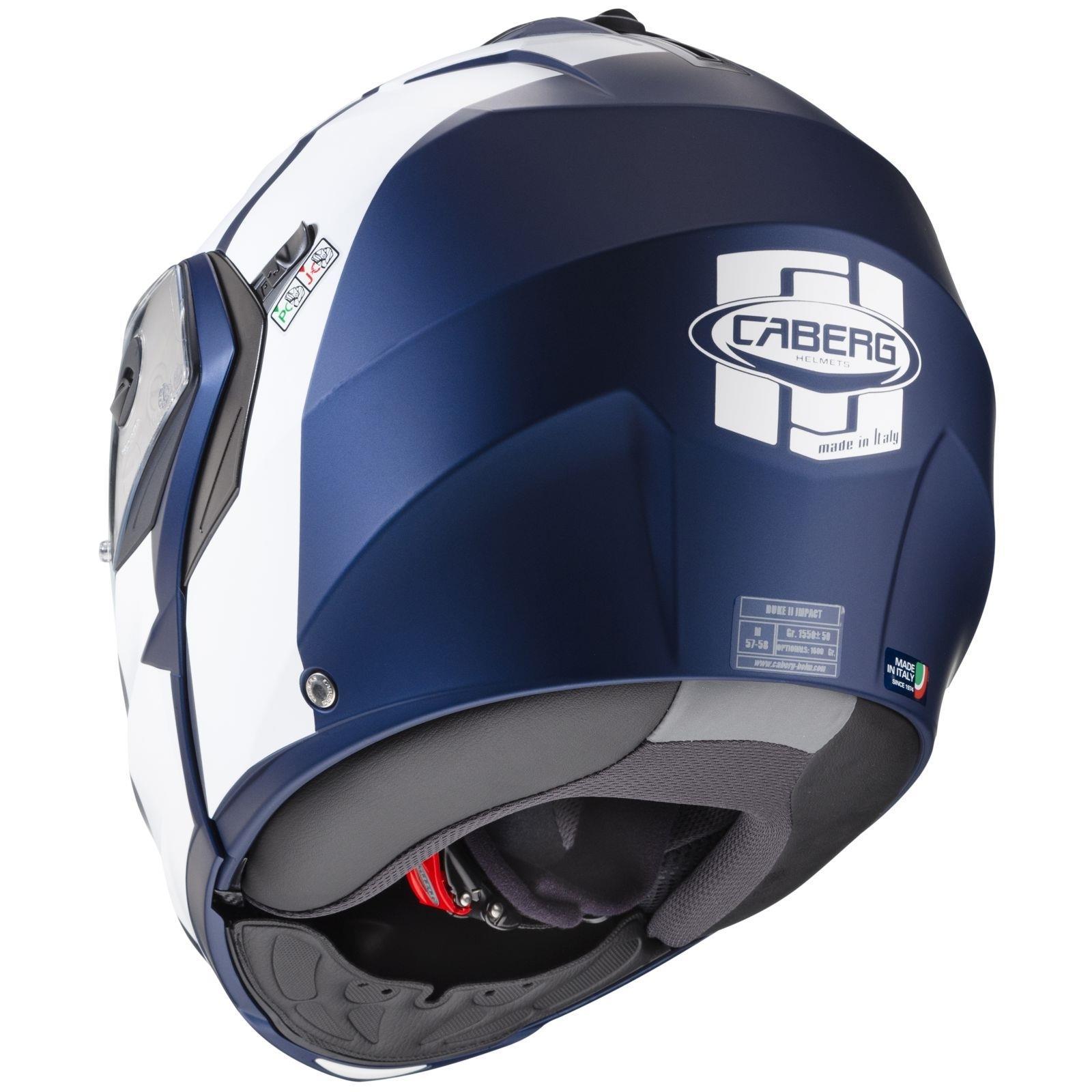 Caberg-Klapp-Helm-Duke-II-2-Motorrad-Belueftet-Sonnenblende-Pinlock-Visier-Jet Indexbild 16