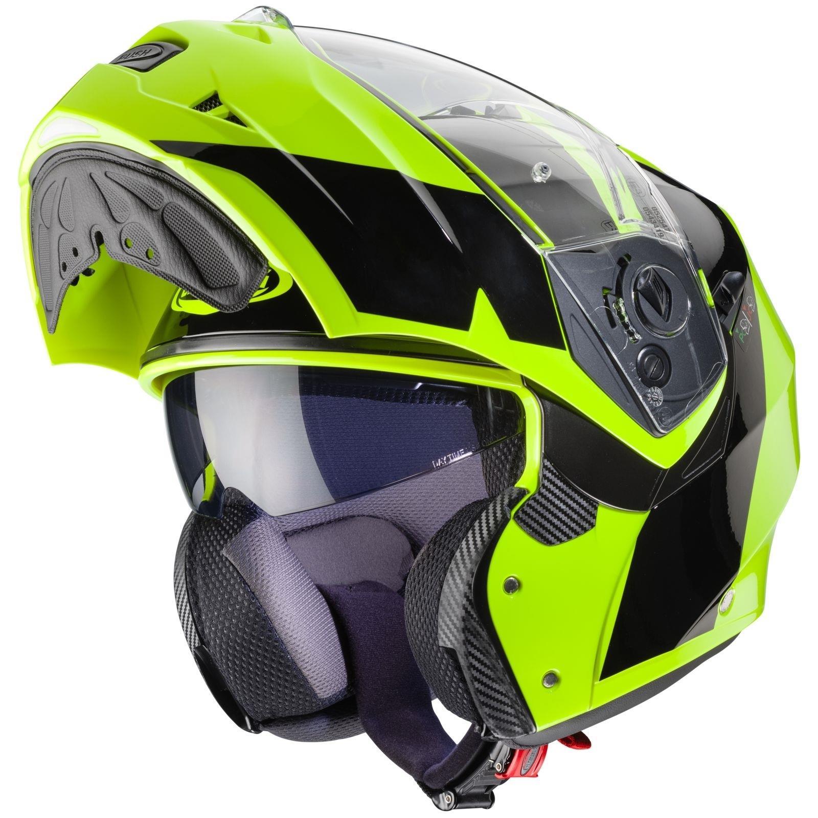 Caberg-Klapp-Helm-Duke-II-2-Motorrad-Belueftet-Sonnenblende-Pinlock-Visier-Jet Indexbild 35
