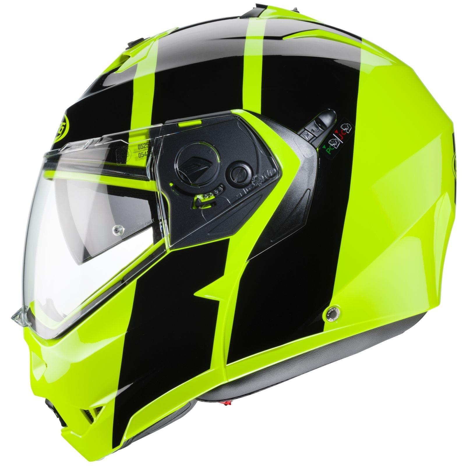 Caberg-Klapp-Helm-Duke-II-2-Motorrad-Belueftet-Sonnenblende-Pinlock-Visier-Jet Indexbild 37