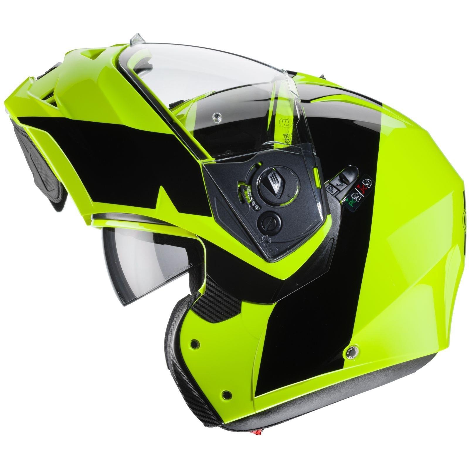 Caberg-Klapp-Helm-Duke-II-2-Motorrad-Belueftet-Sonnenblende-Pinlock-Visier-Jet Indexbild 38