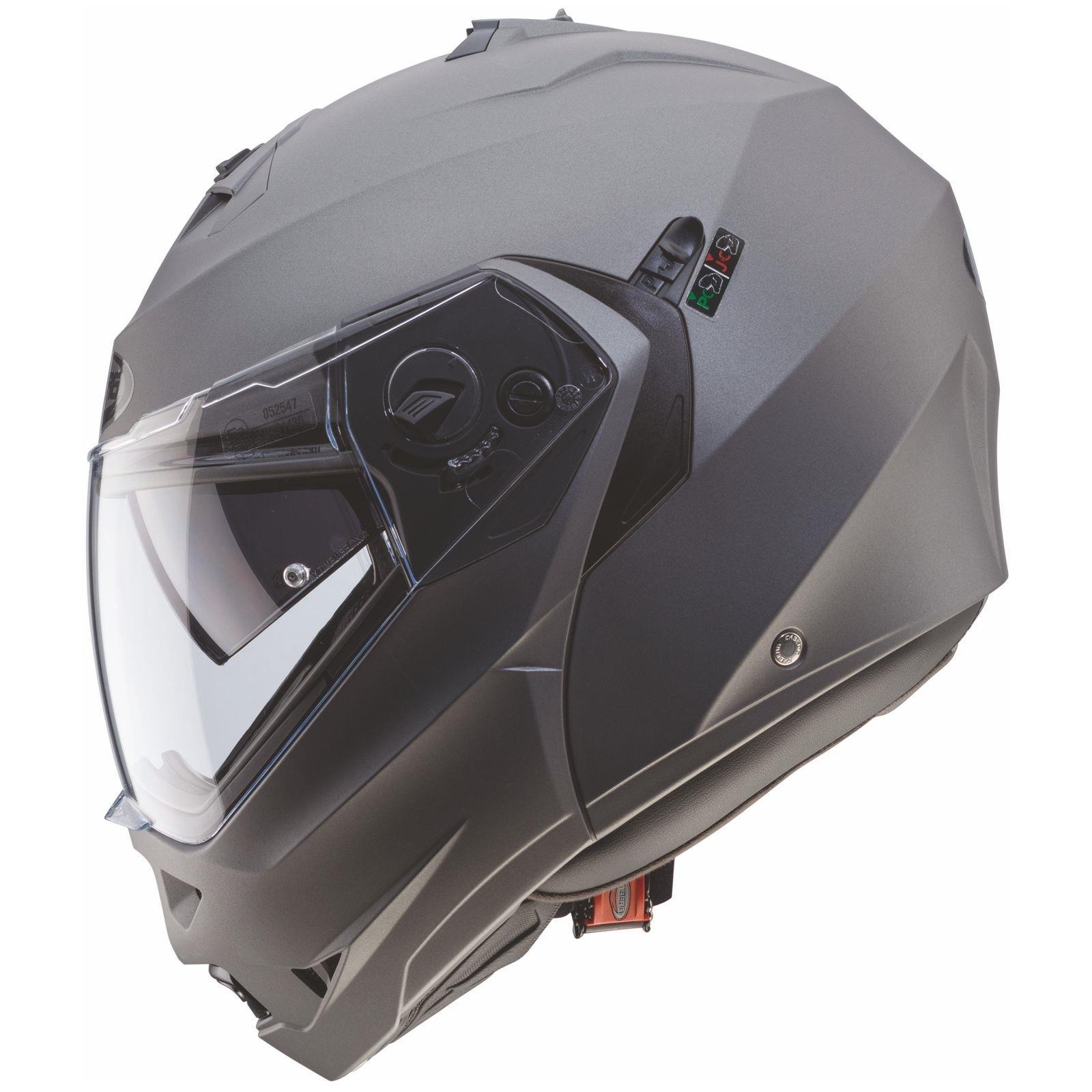 Caberg-Klapp-Helm-Duke-II-2-Motorrad-Belueftet-Sonnenblende-Pinlock-Visier-Jet Indexbild 19