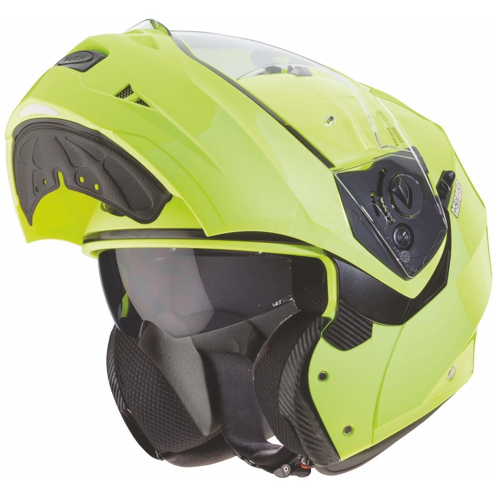 Caberg-Klapp-Helm-Duke-II-2-Motorrad-Belueftet-Sonnenblende-Pinlock-Visier-Jet Indexbild 23