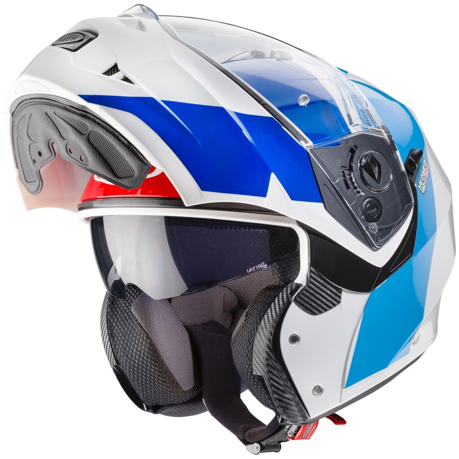 Caberg-Klapp-Helm-Duke-II-2-Motorrad-Belueftet-Sonnenblende-Pinlock-Visier-Jet Indexbild 28