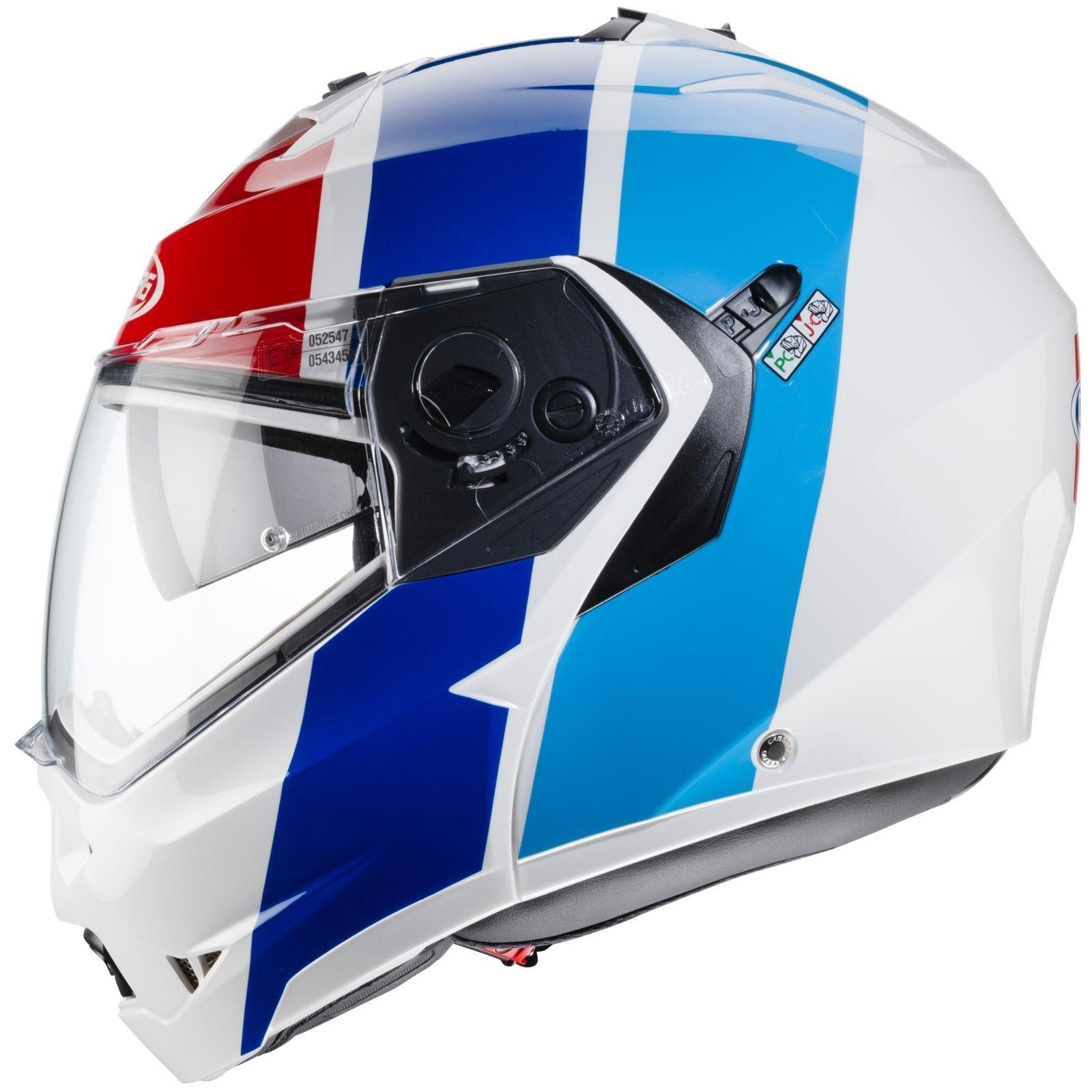 Caberg-Klapp-Helm-Duke-II-2-Motorrad-Belueftet-Sonnenblende-Pinlock-Visier-Jet Indexbild 30