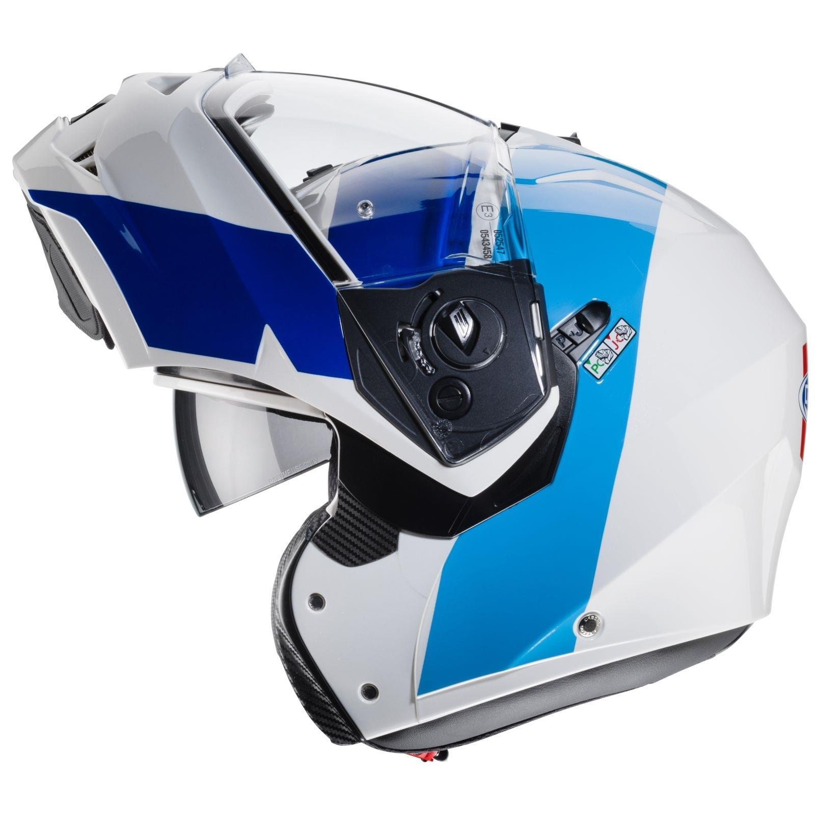 Caberg-Klapp-Helm-Duke-II-2-Motorrad-Belueftet-Sonnenblende-Pinlock-Visier-Jet Indexbild 31