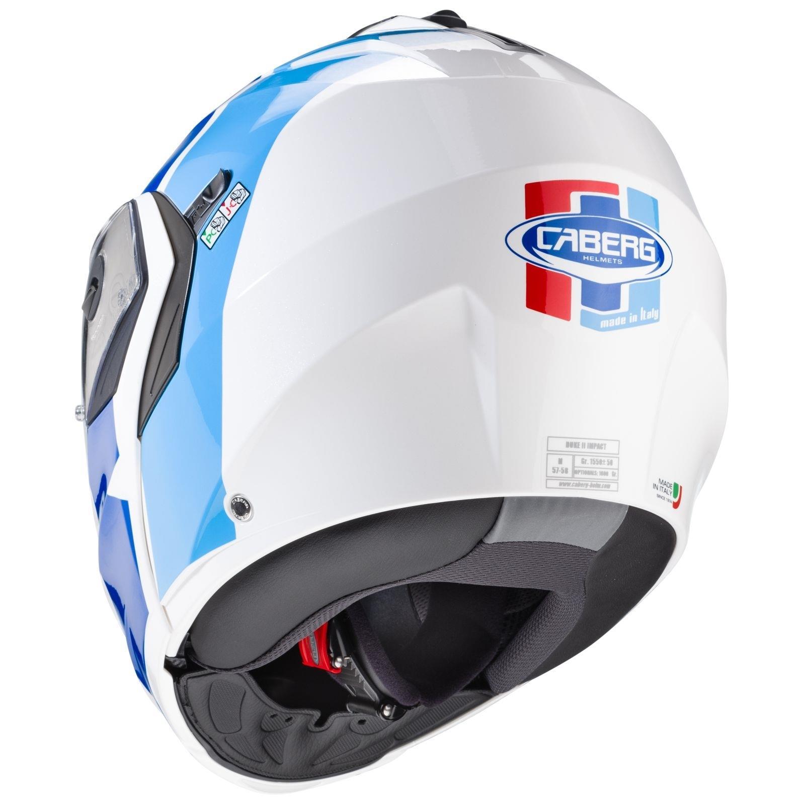 Caberg-Klapp-Helm-Duke-II-2-Motorrad-Belueftet-Sonnenblende-Pinlock-Visier-Jet Indexbild 32