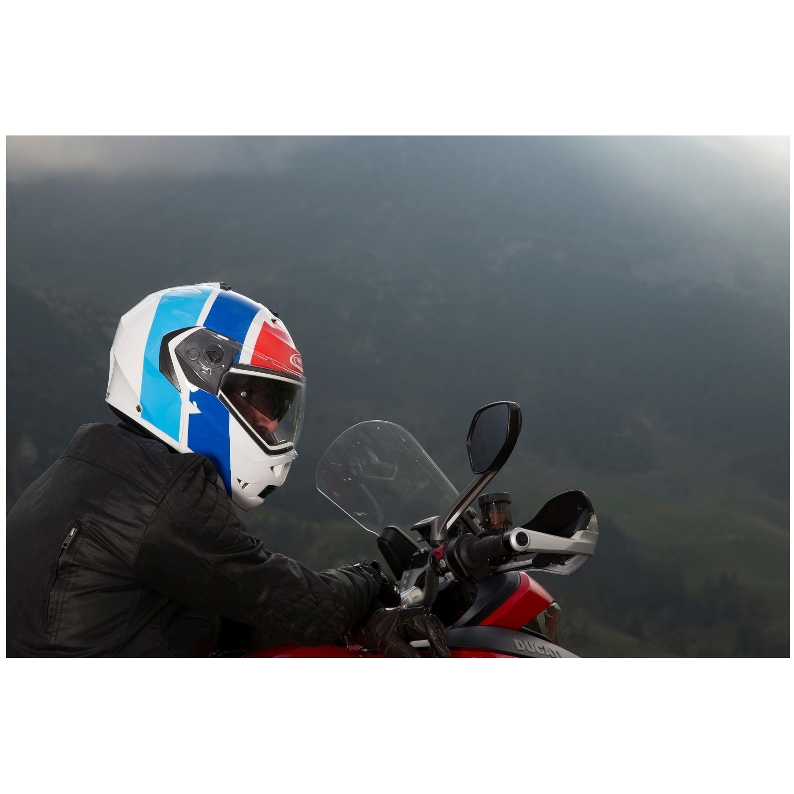 Caberg-Klapp-Helm-Duke-II-2-Motorrad-Belueftet-Sonnenblende-Pinlock-Visier-Jet Indexbild 33