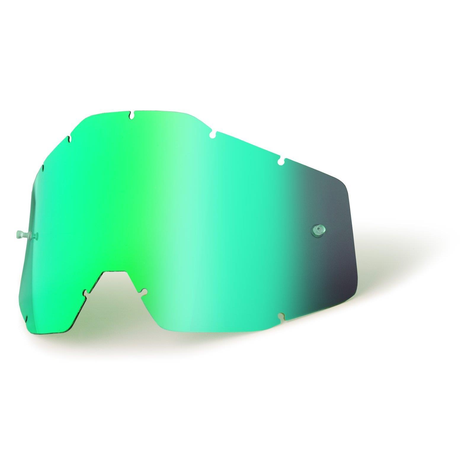 Ersatzglas Klar für 100/% Youth Accuri Strata Kinder MX Brille Ersatzscheibe