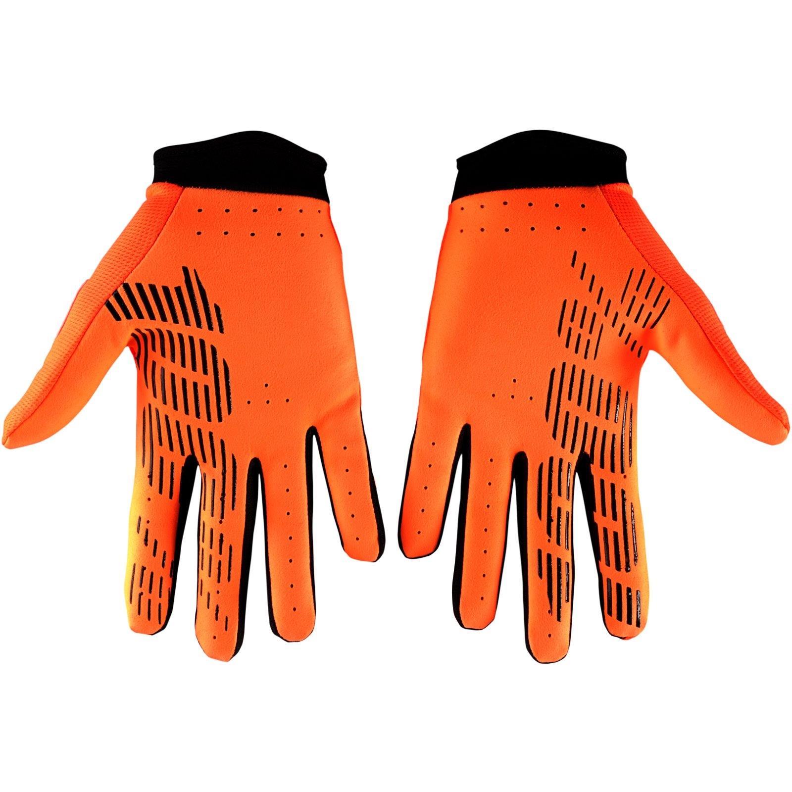 Farbe Caltrans HU-GLO-0003 100/% Prozent iTrack Kinder Handschuhe Clarino MTB DH MX Motocross Enduro Offroad Quad Gr/ö/ße L