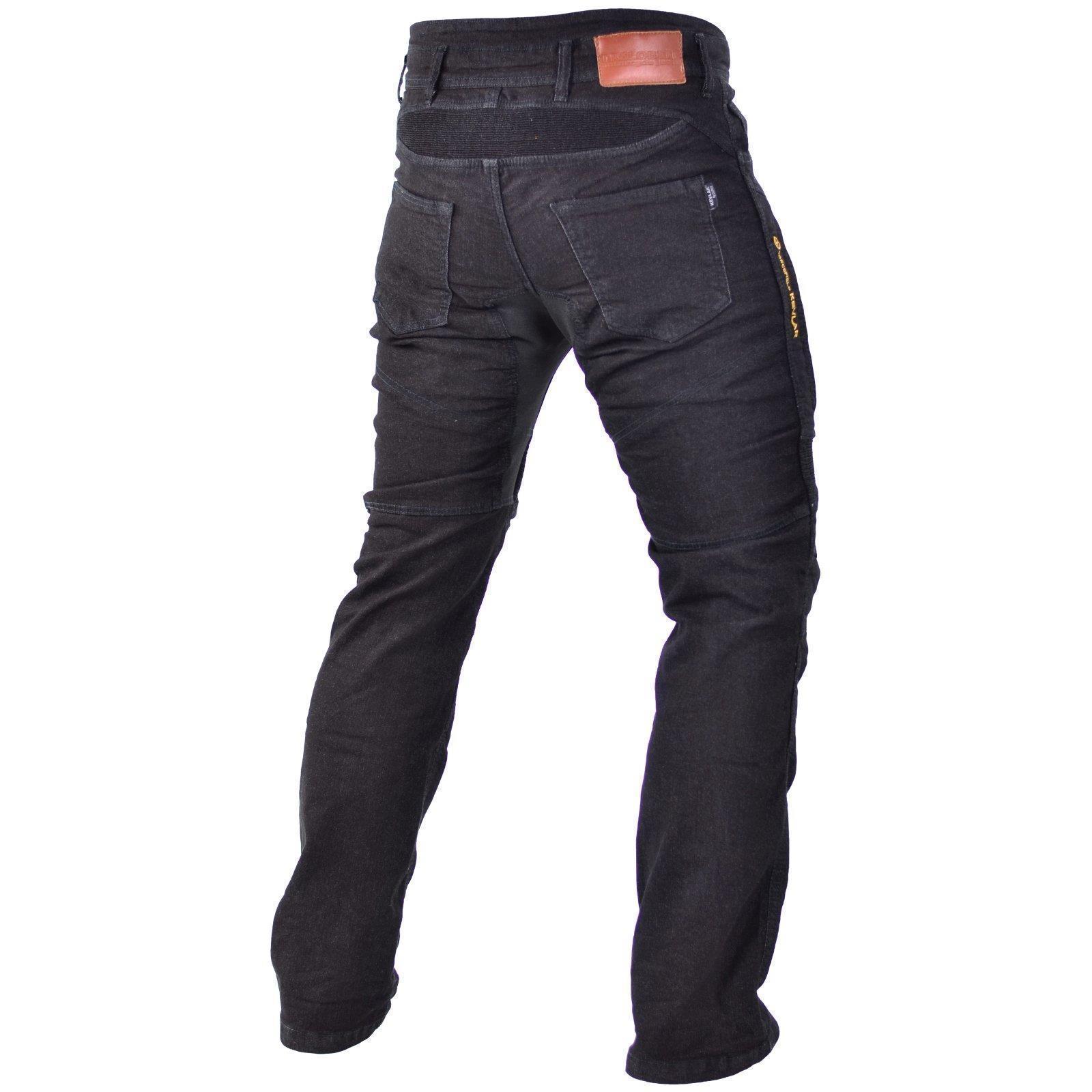 Trilobite Smart Hommes Moto Pantalons STD//Lang-Bleu