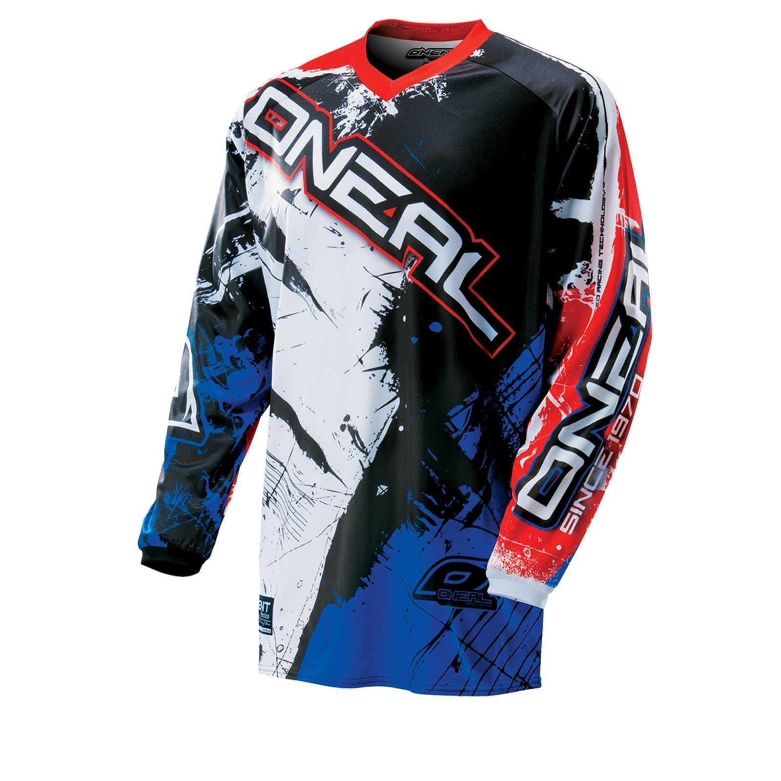 Oneal-elemento-ninos-MX-Jersey-pantalones-Shocker-Moto-Cross-Enduro-Mountainbike-MTB miniatura 11