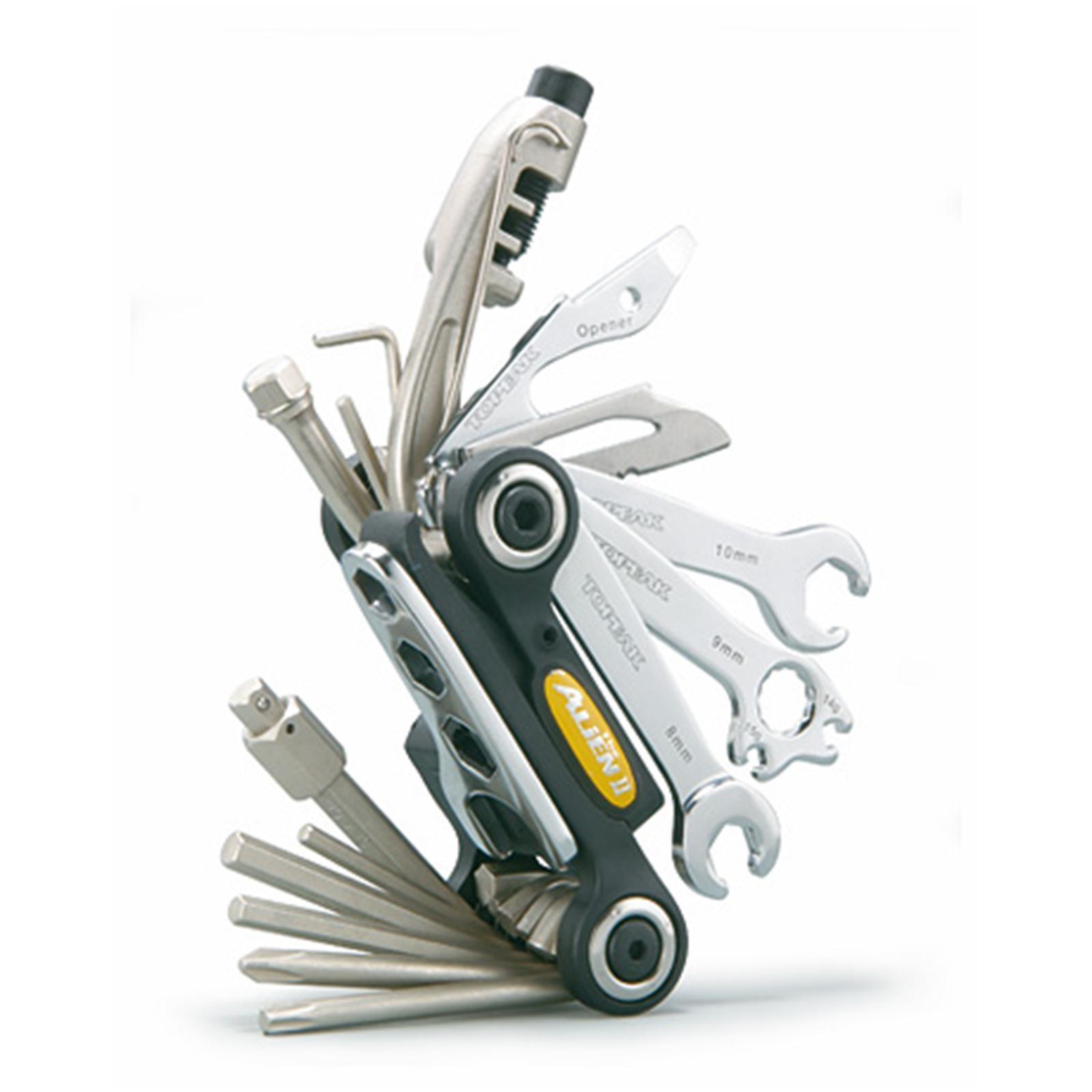 Topeak Mini Funktions Werkzeug Multi Tool Fahrrad MTB Road Kettennieter Kompakt